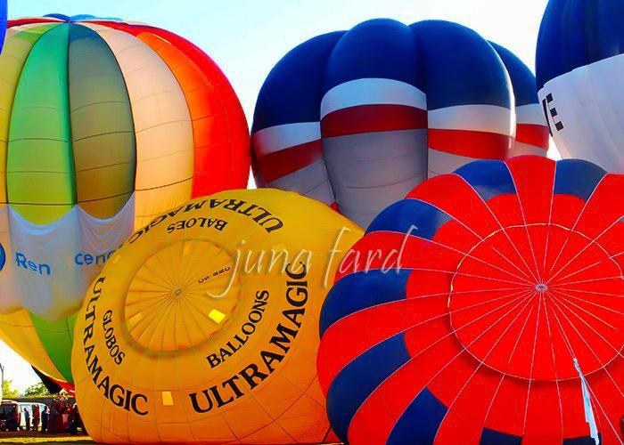 | balão de ar quente | do juna fard | by juna fard