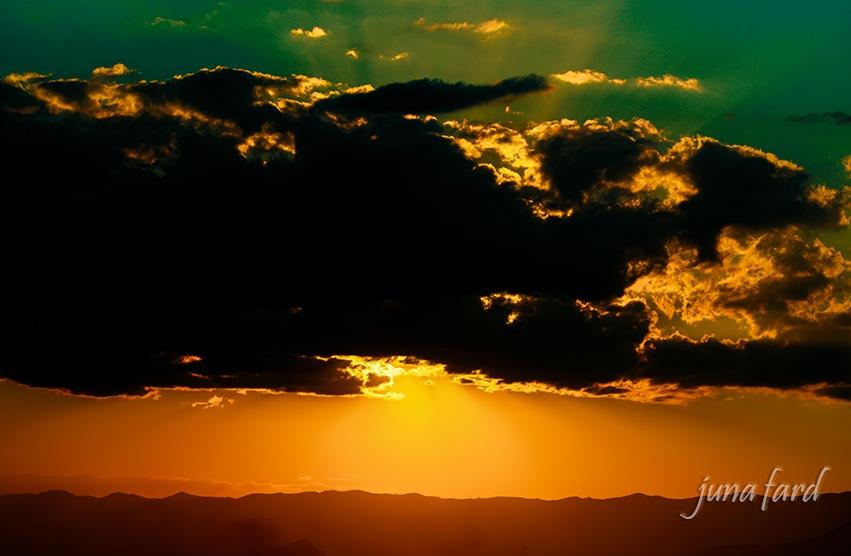 #sunset #coucher_du_soleil  #photo_by_juna_fard by juna fard