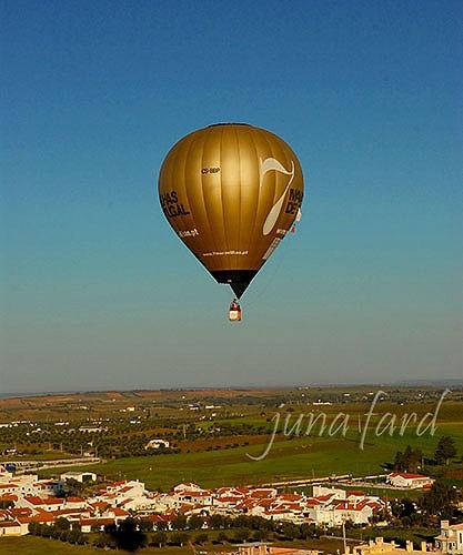 Balão de ar quente   by juna fard   by juna fard