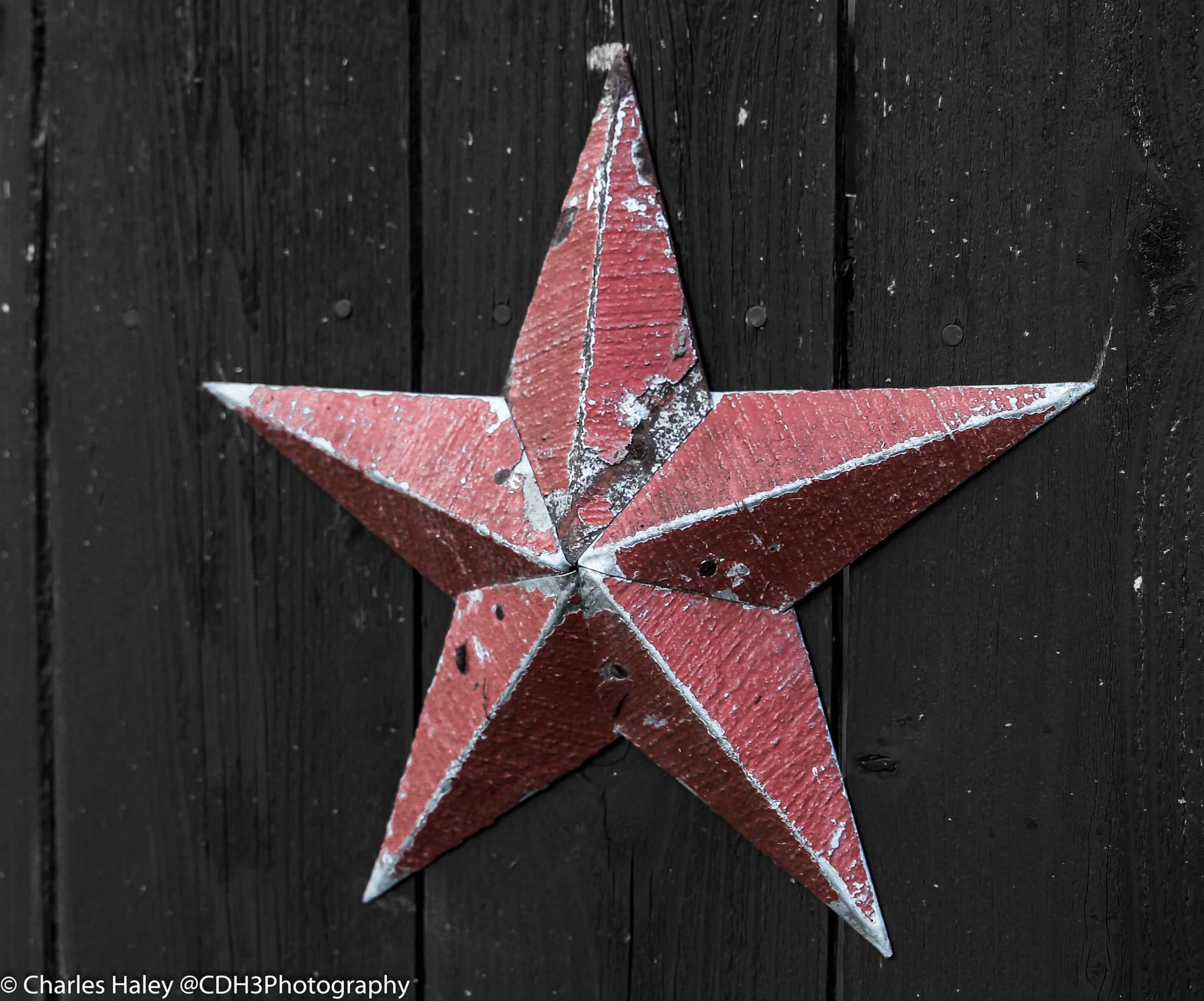 Amish made metal star by CDH3Photography