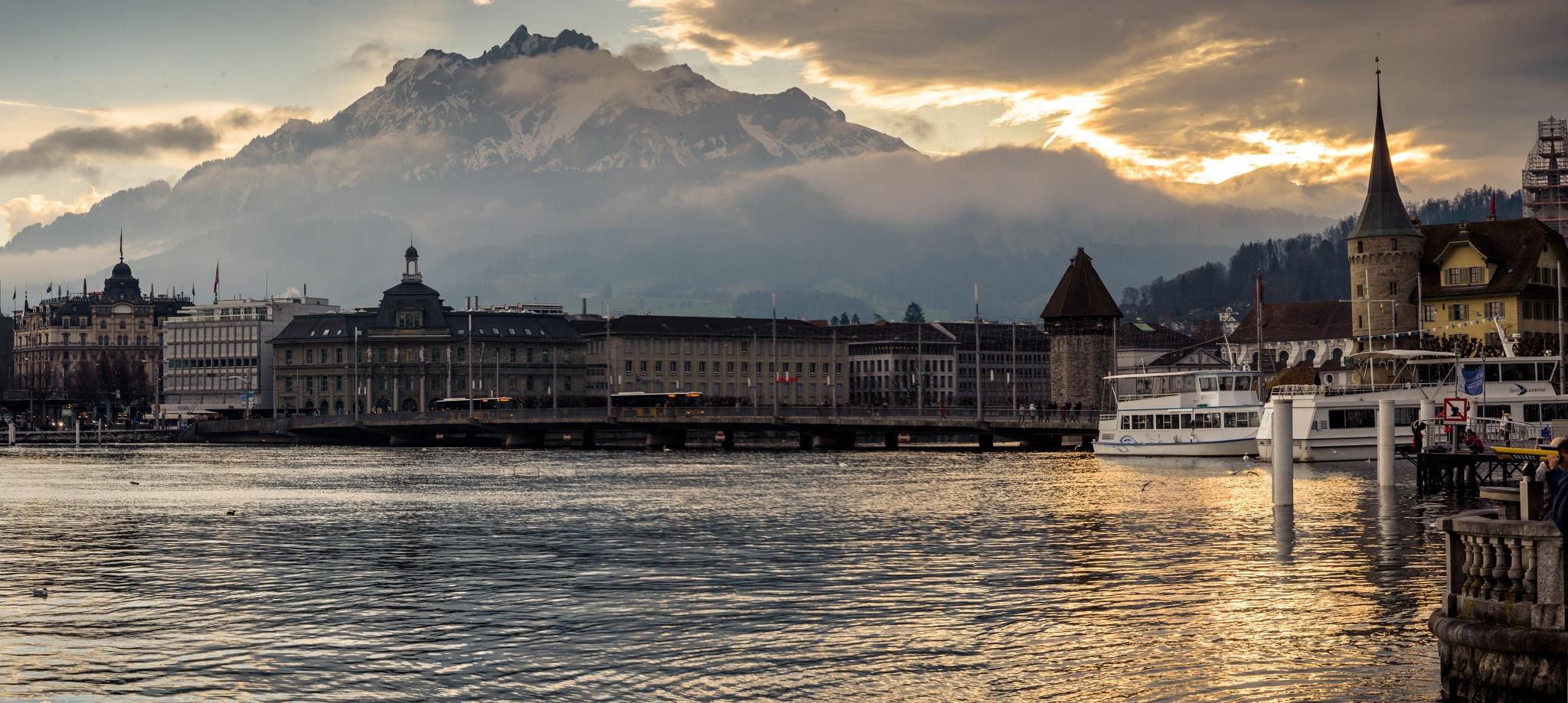 City Of Lucerne by Avedis