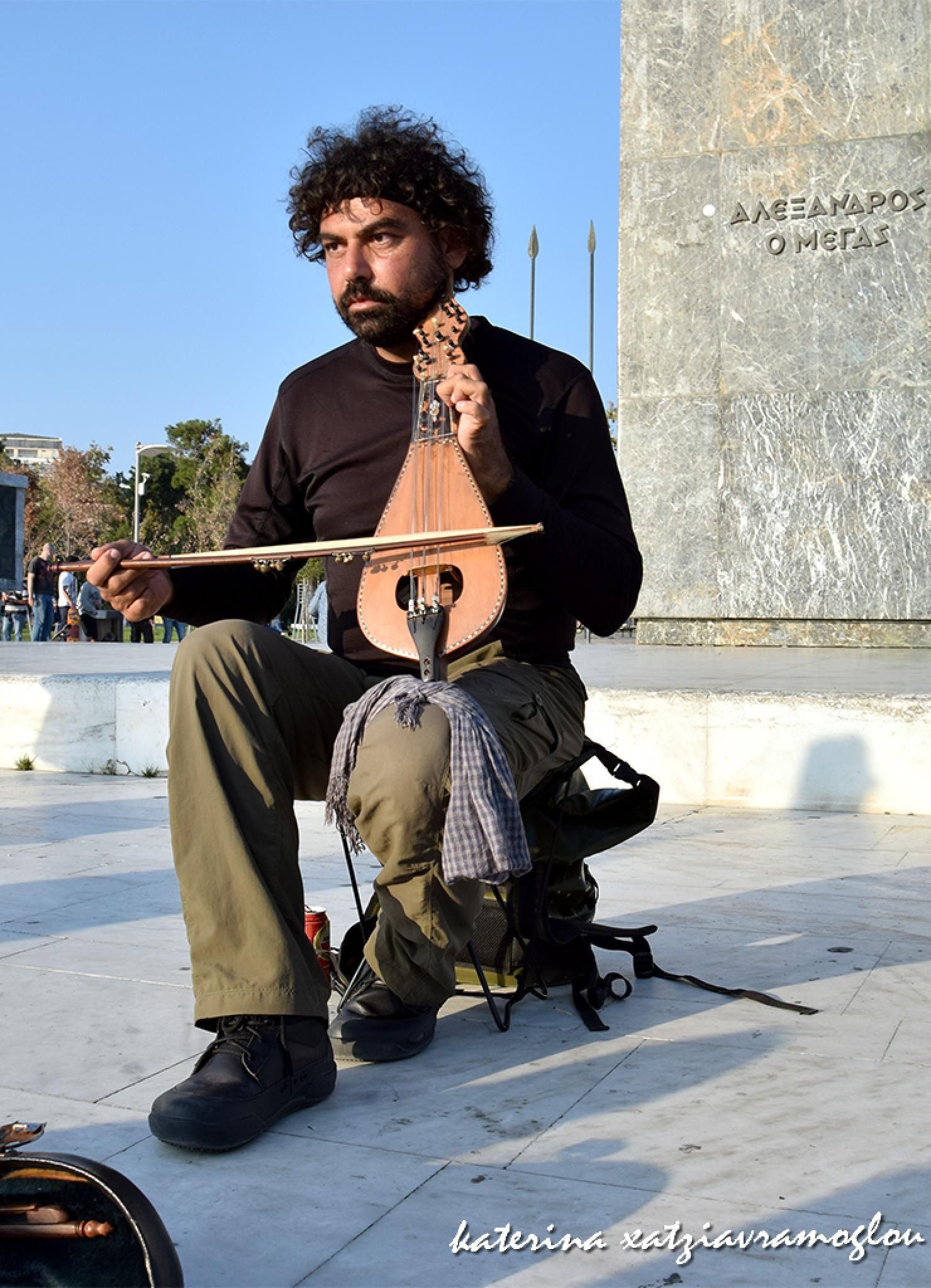 The lyre player by katerinaxatziavramoglou