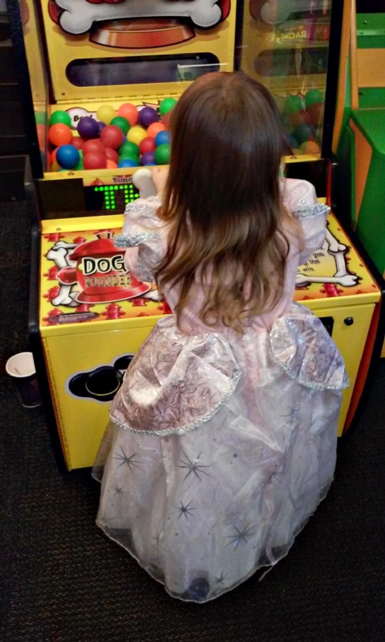 Princess Plays Arcades by mary.keenantownsend