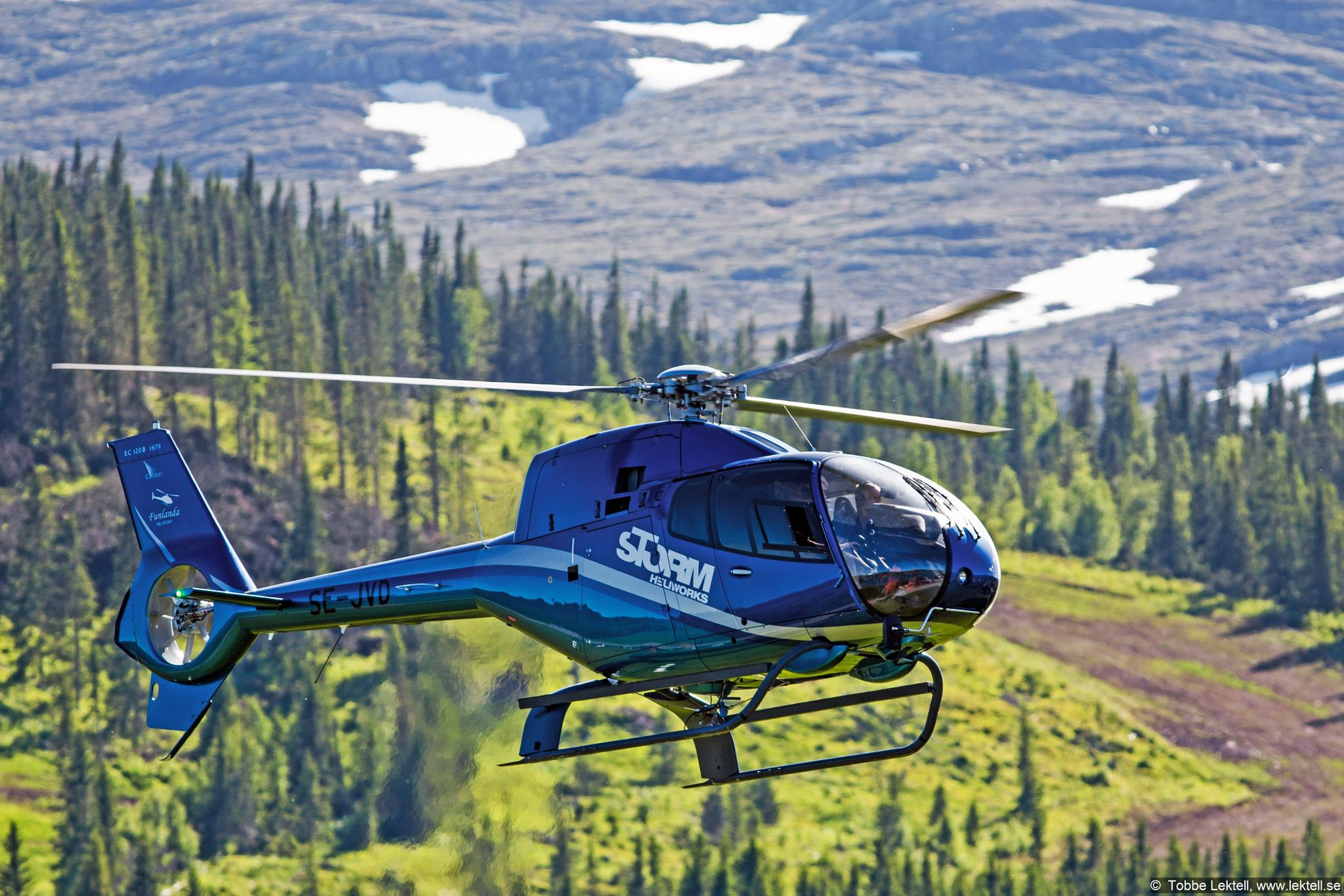 Blue helo by tobbe.lektell