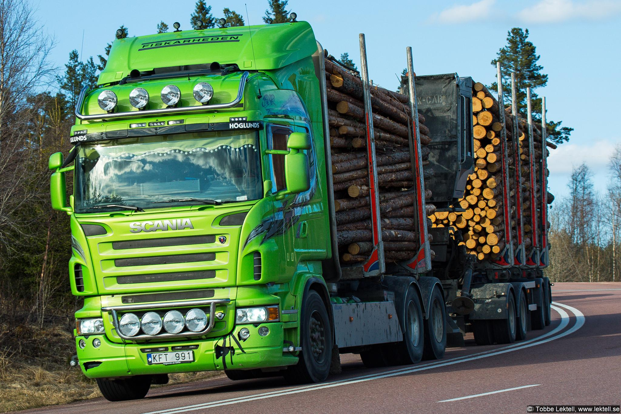 Very green Scania by tobbe.lektell