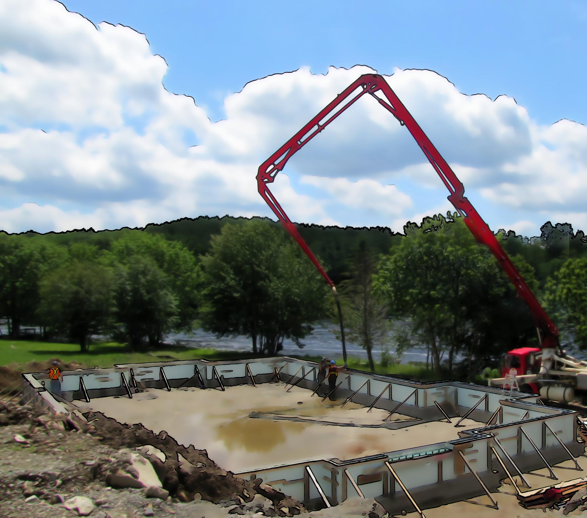 Pumping Concrete by crow eddy