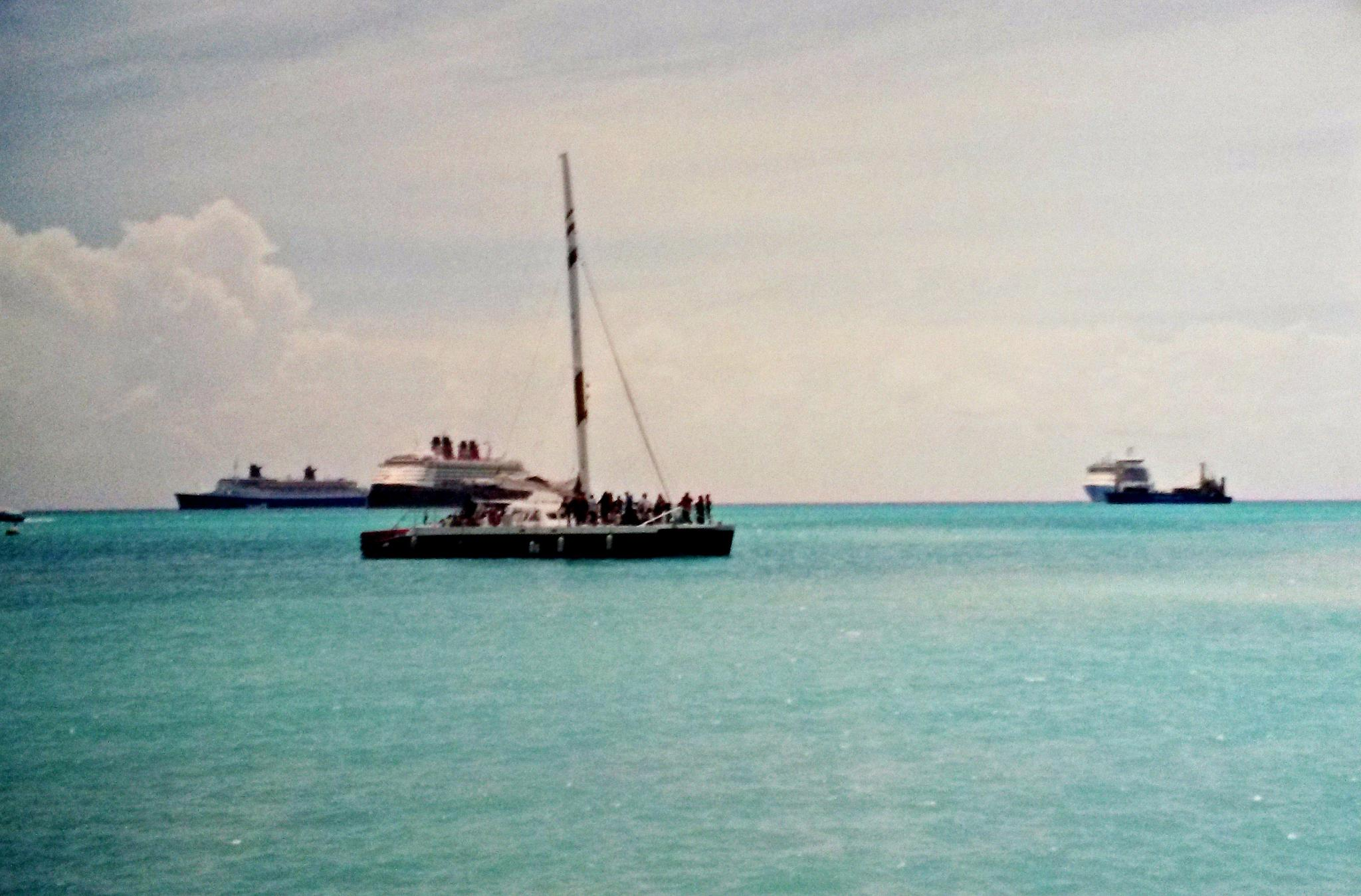Our ride to St. Lucia by KarynG
