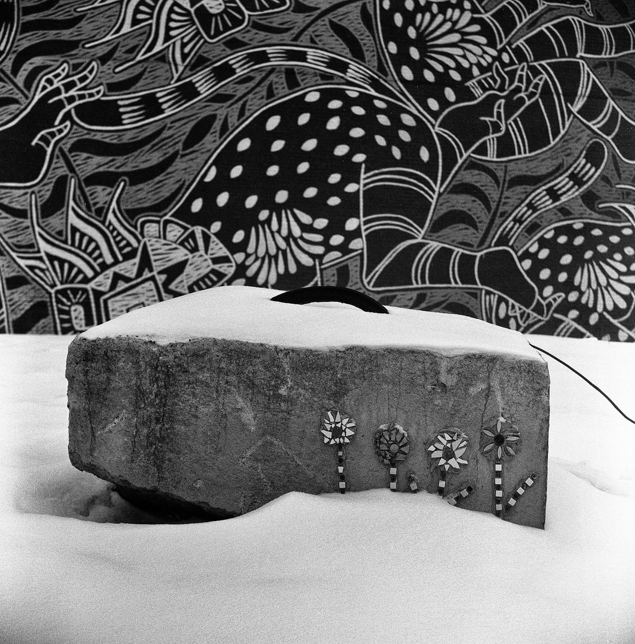 Deadpan No. 279. Stone Garden in Winter.  by dragos.stoic