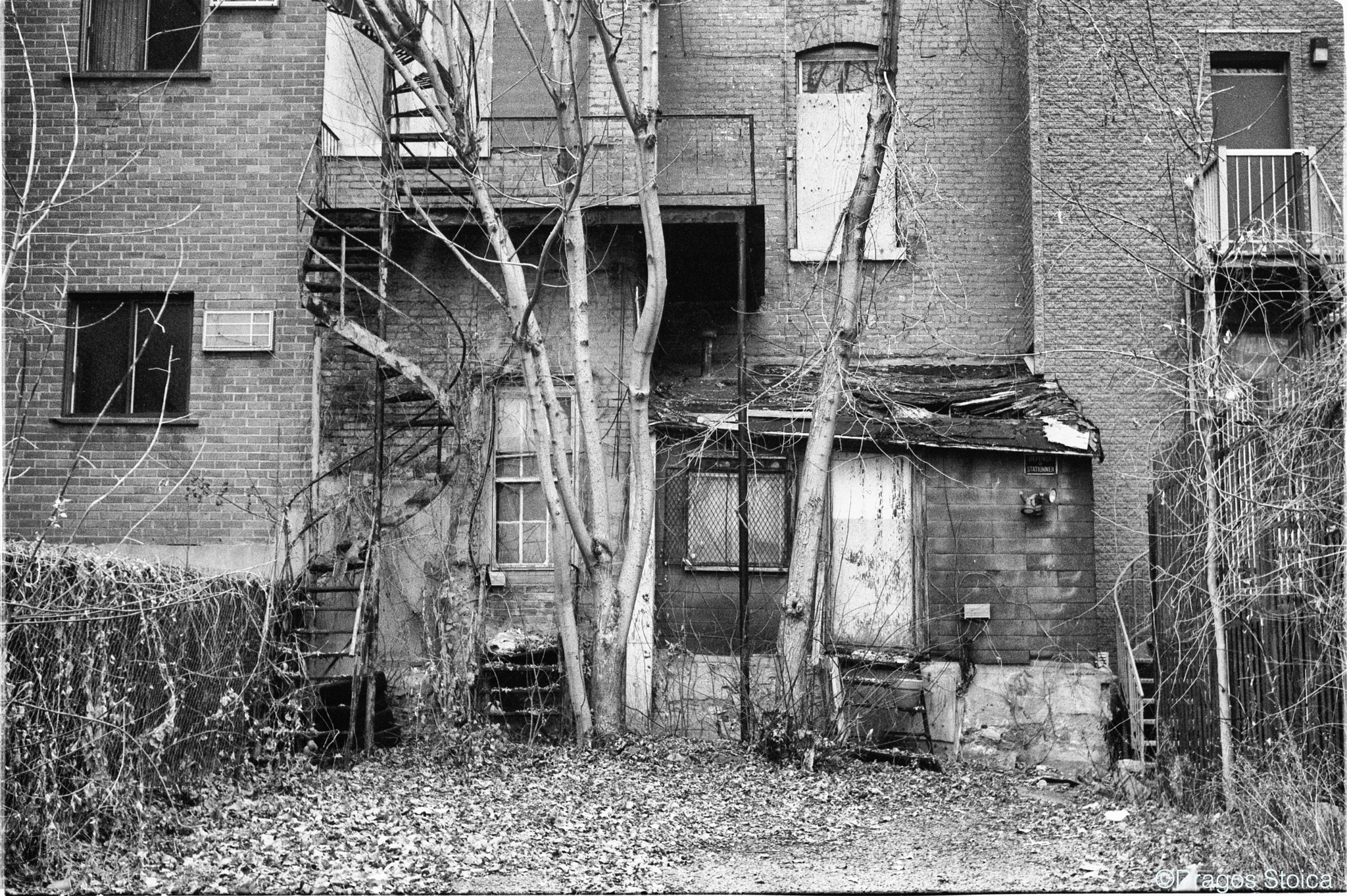 Deadpan No. 219. Before it Disappears. The Last House of the Old Griffintown  by dragos.stoic