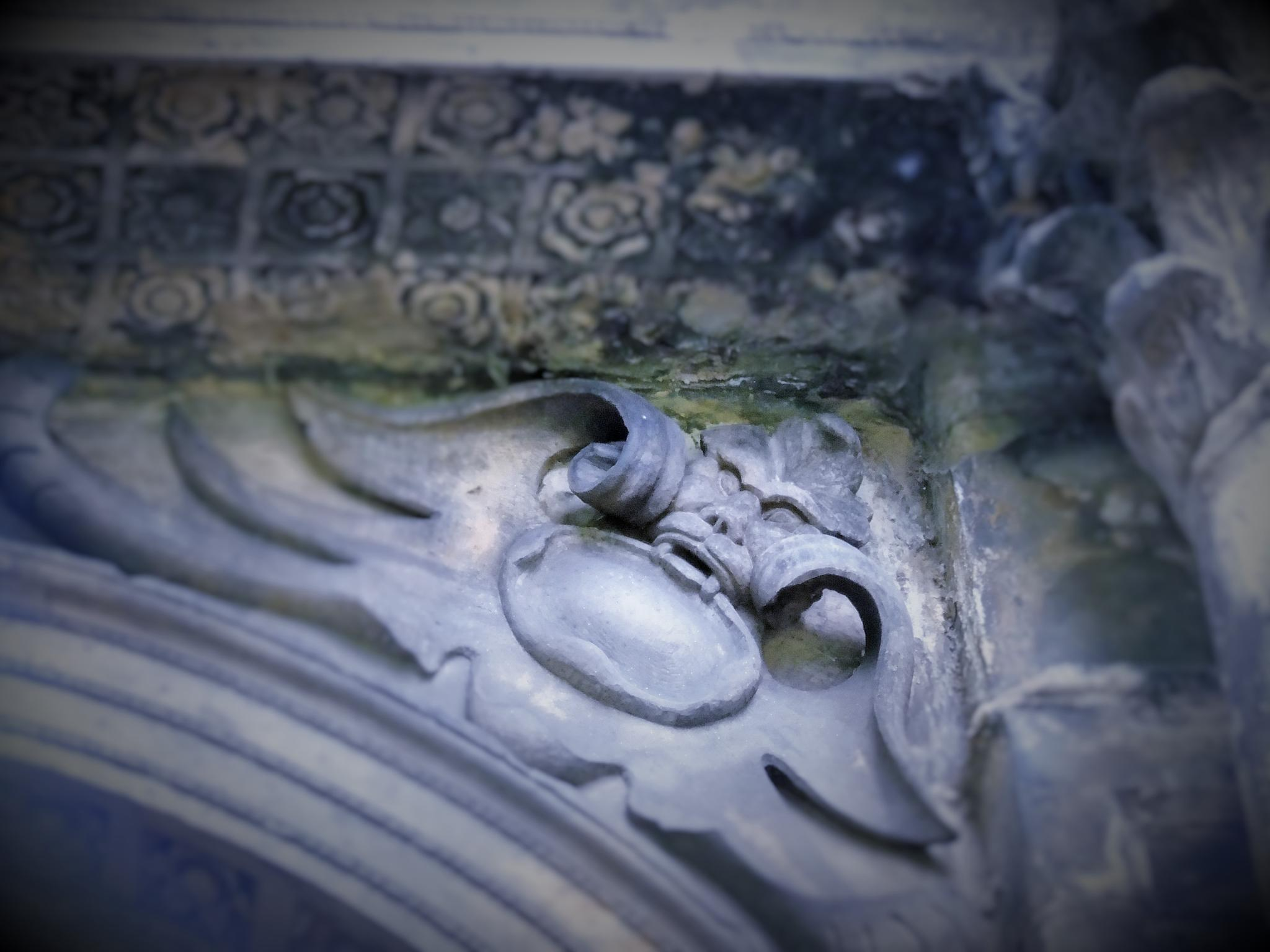 Greyfriars kirk yard grave stone by jakky1971