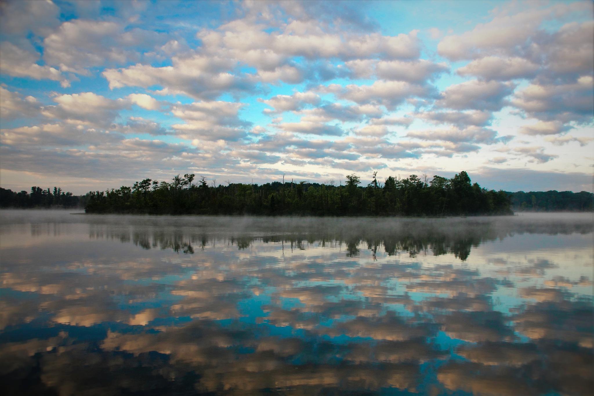 Cool Autumn Mornings by Robert Duminie Sr.
