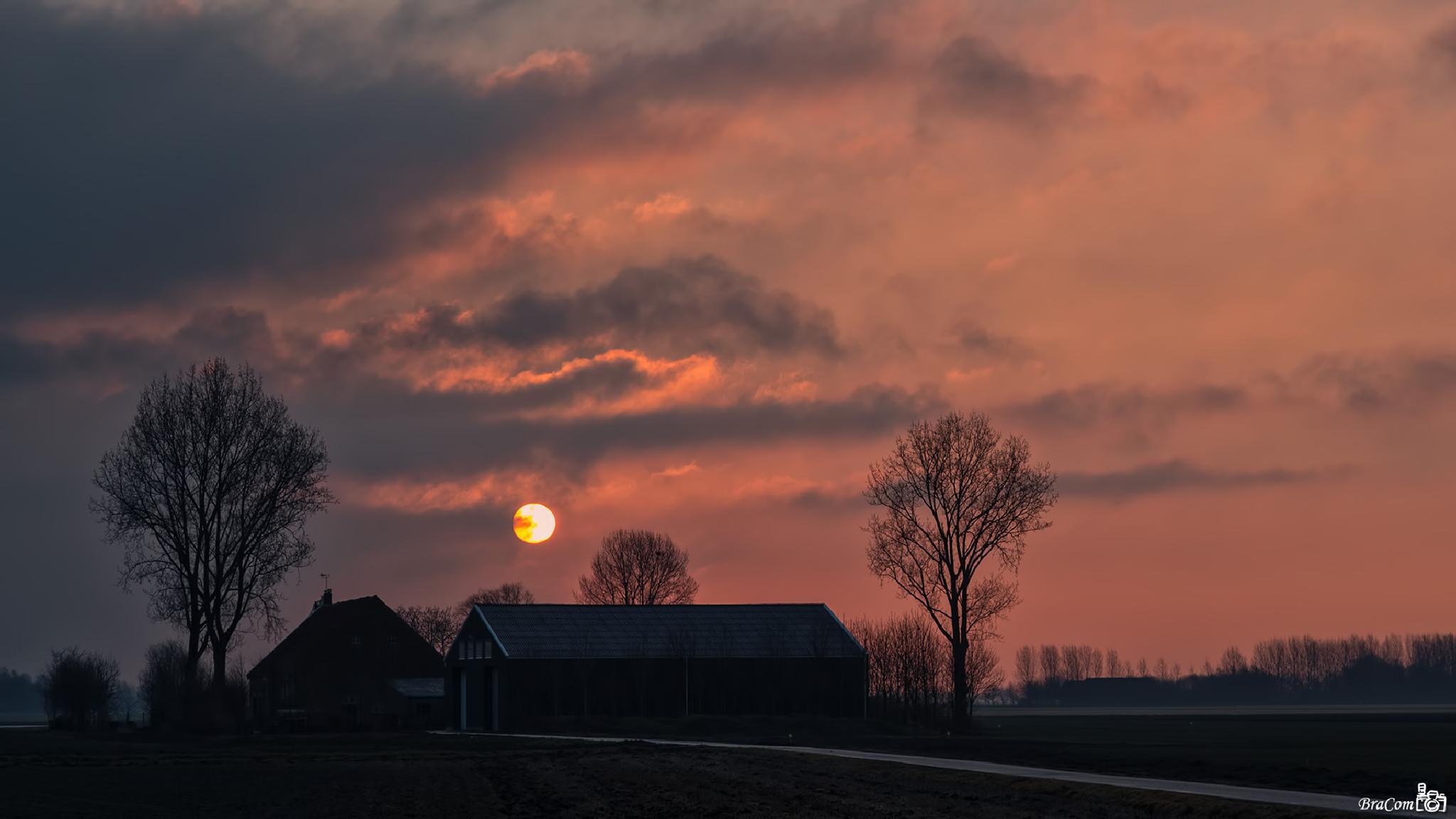 March sunrise by Bram van Broekhoven