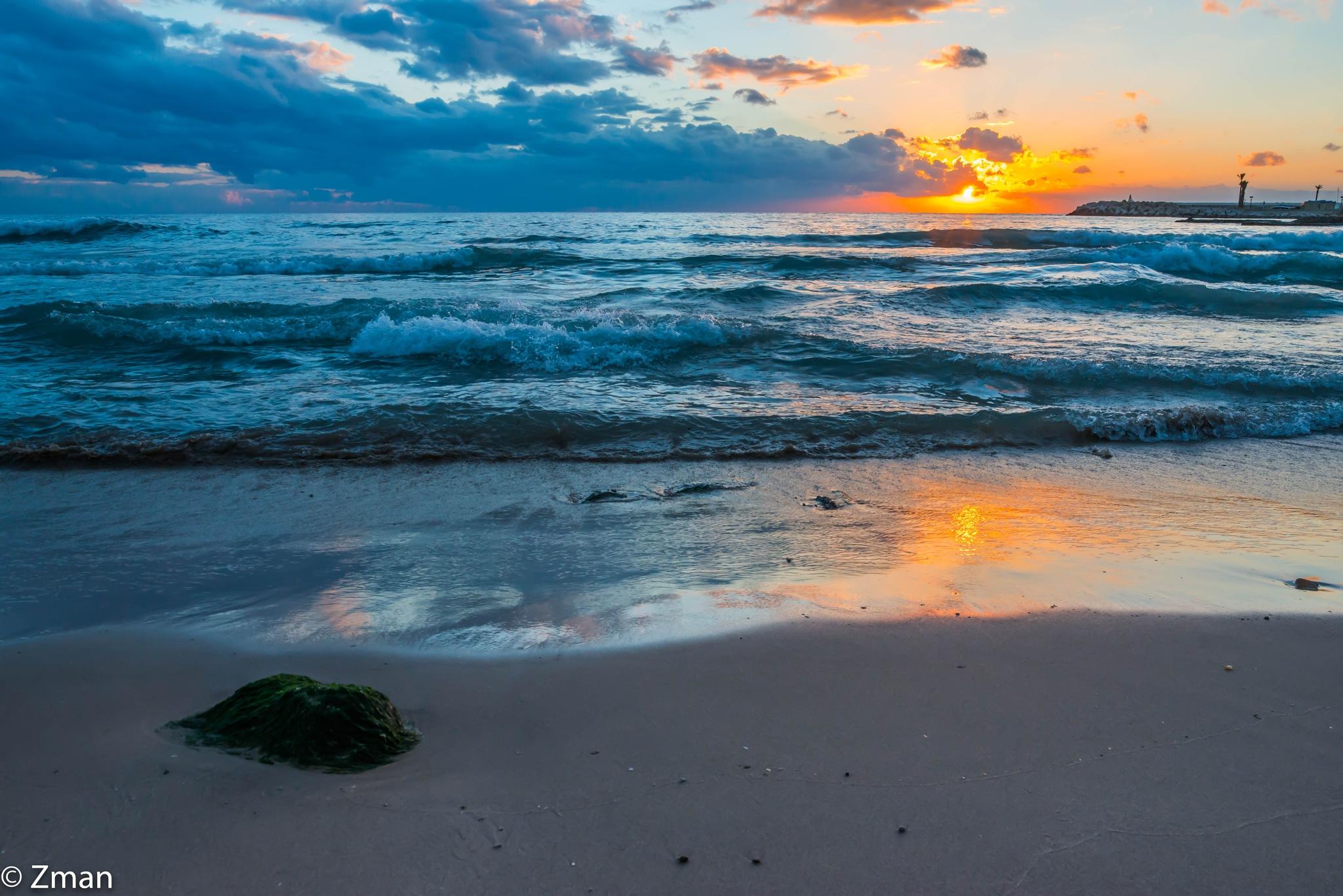 White Sands Beach at Sunset by muhammad.nasser.963