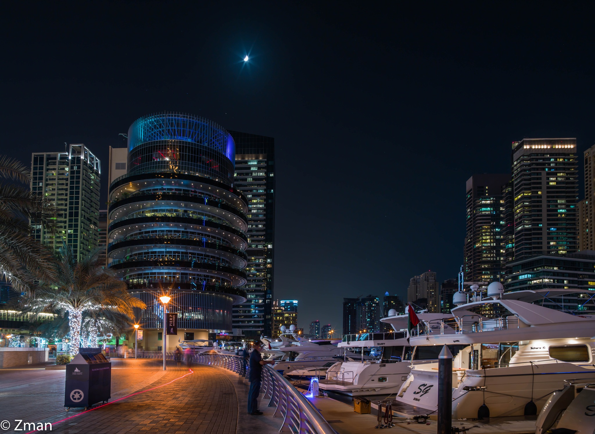 Pier No. 7 and the Yachts by muhammad.nasser.963