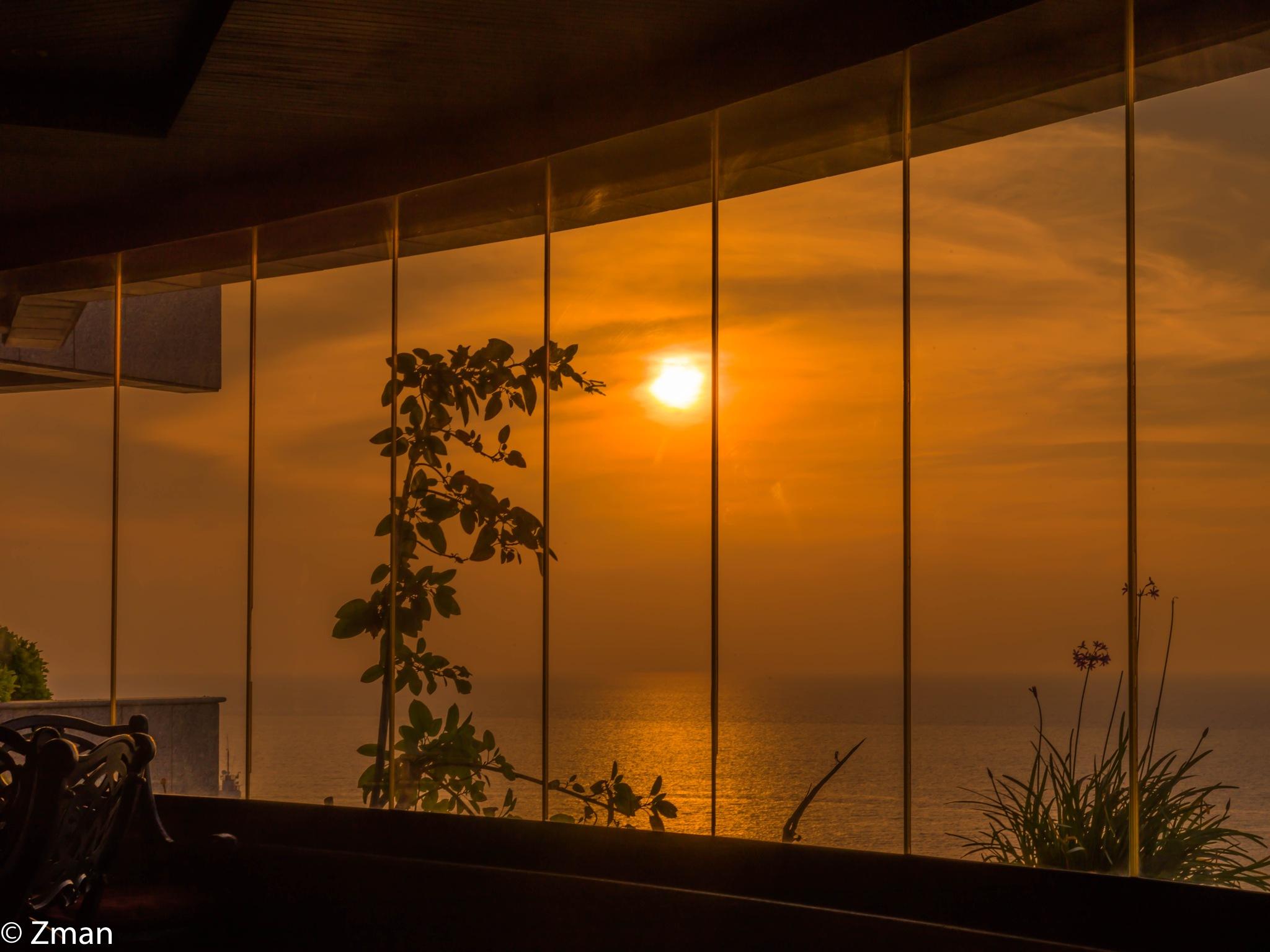 Sunset from my Balcony by muhammad.nasser.963
