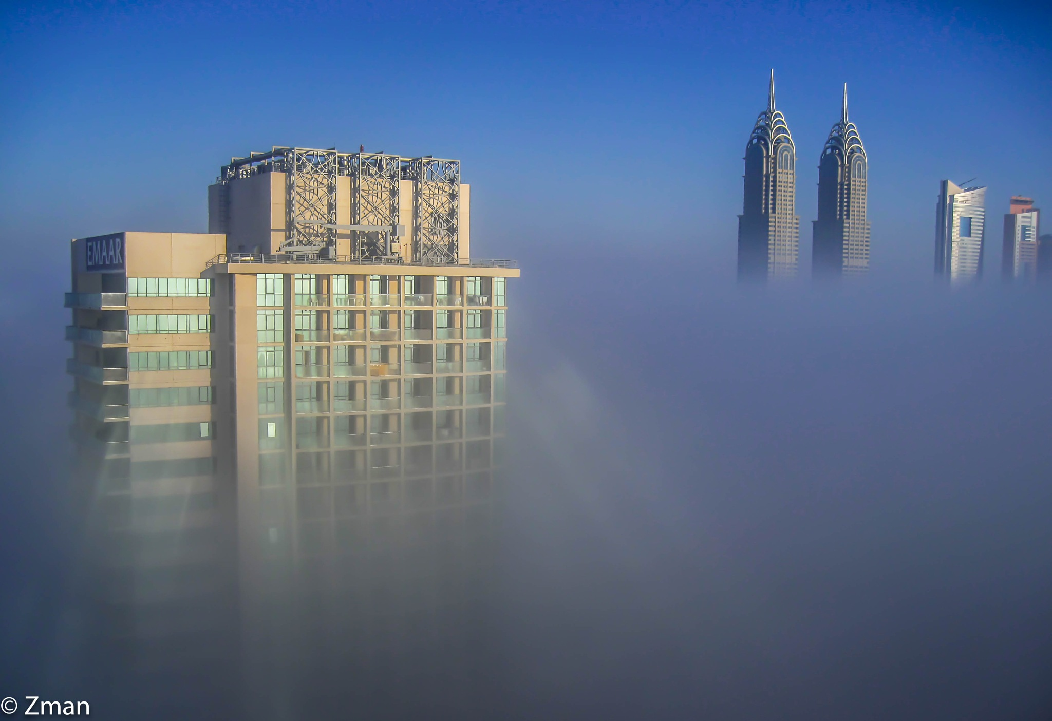Towers above the Clouds by muhammad.nasser.963