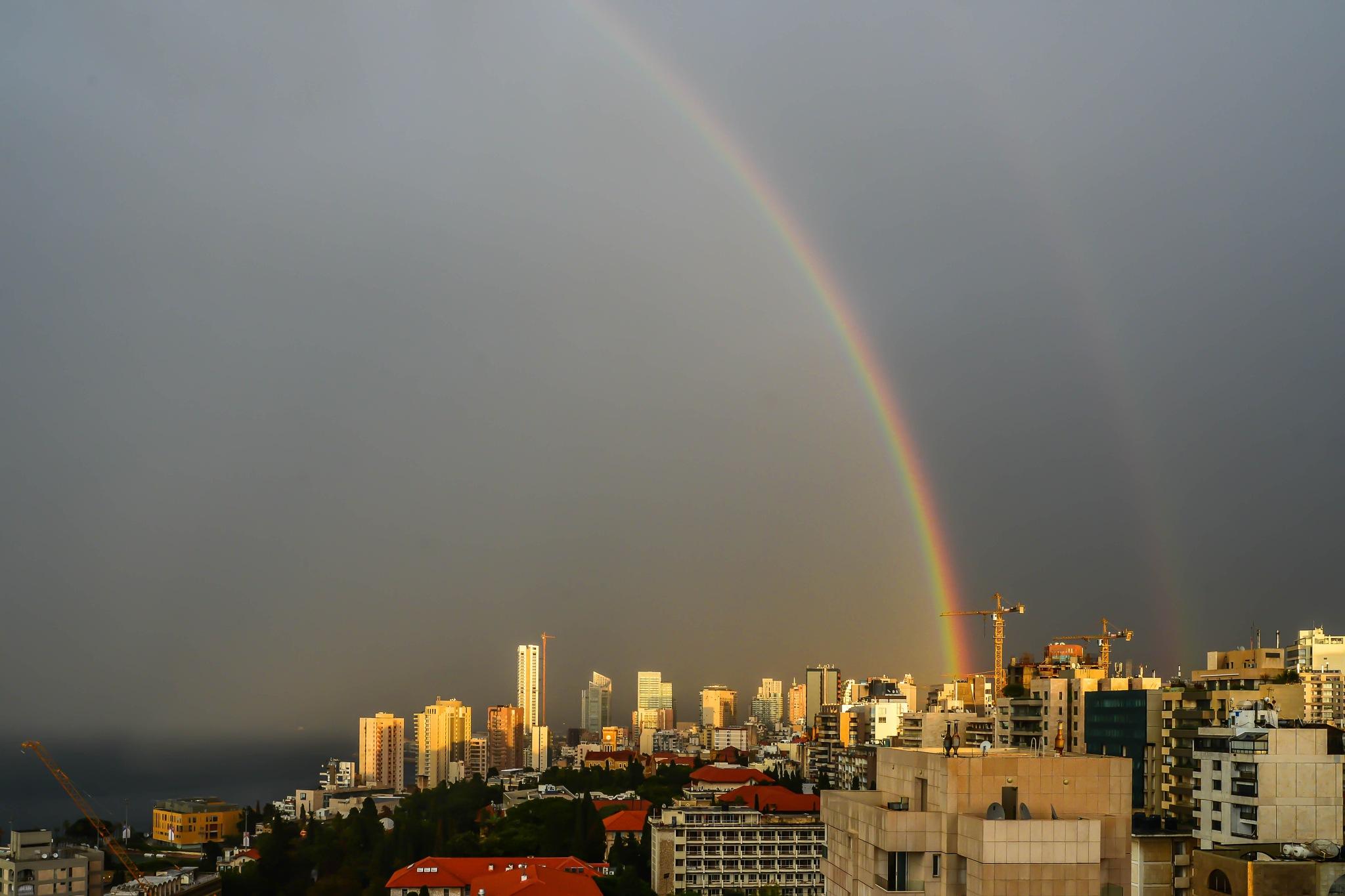 Double Rainbow by muhammad.nasser.963