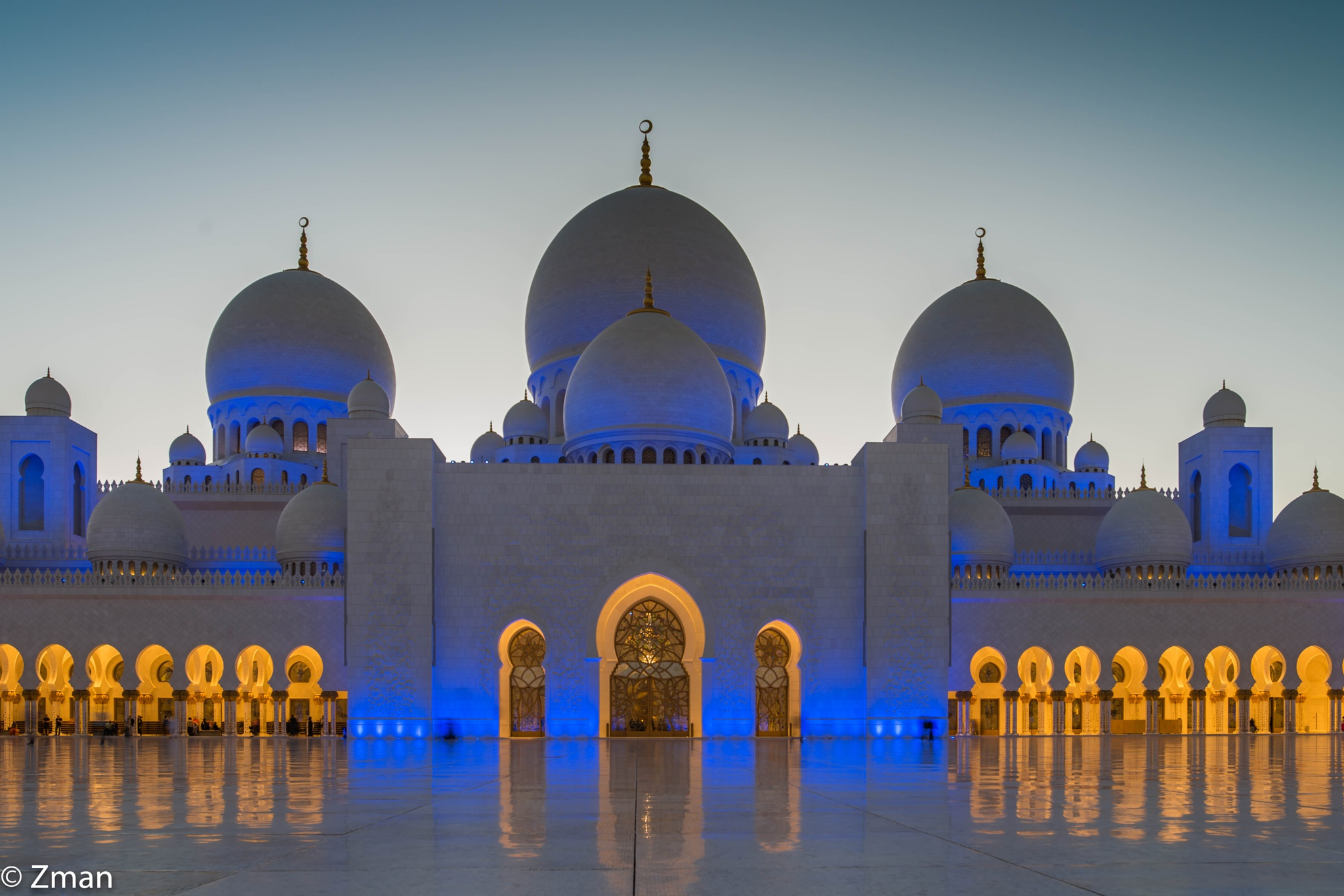 Shk Zayed Grand Mosque 06 by muhammad.nasser.963