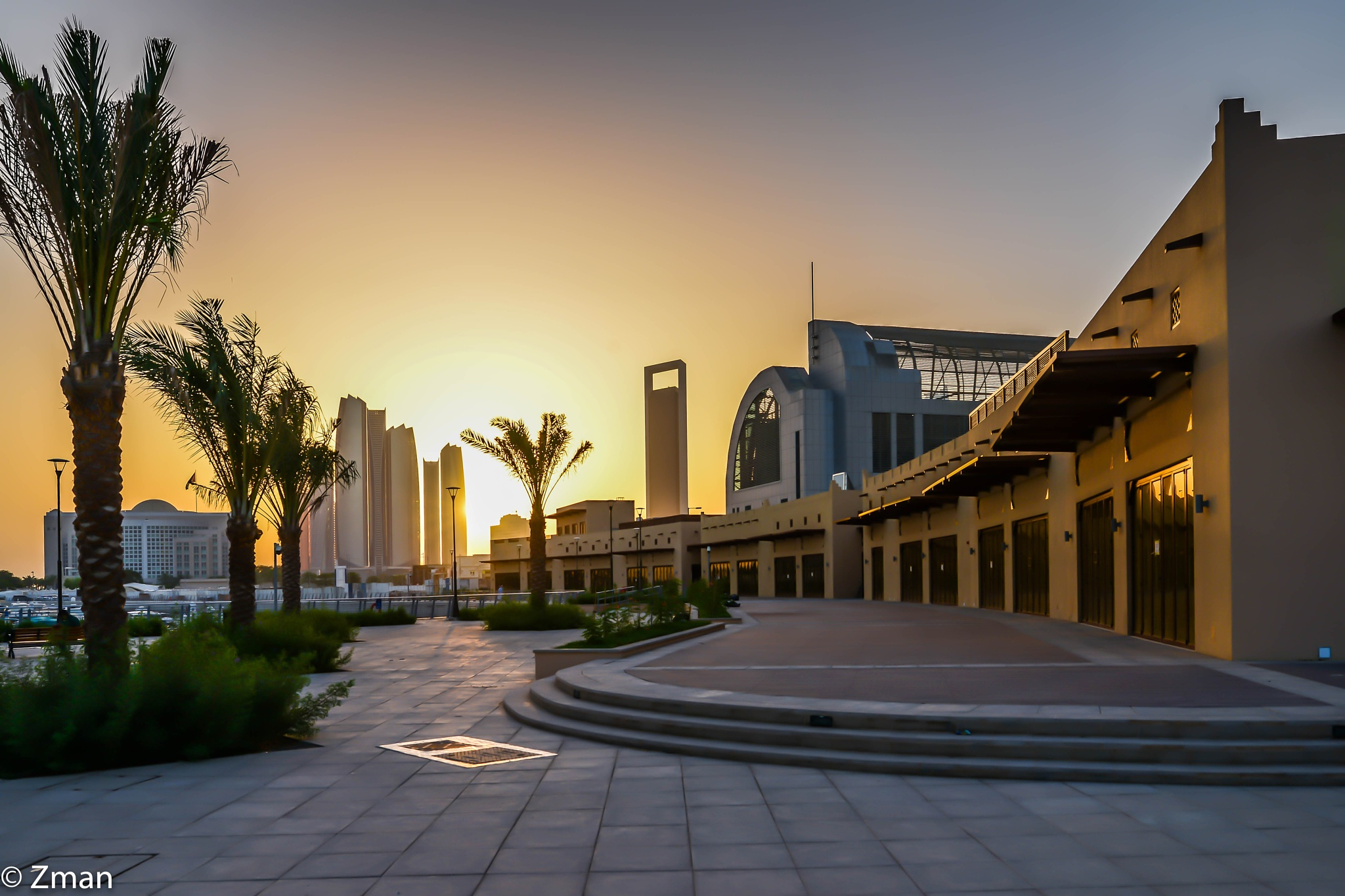 Sunset at Al Bateen Wharf by muhammad.nasser.963
