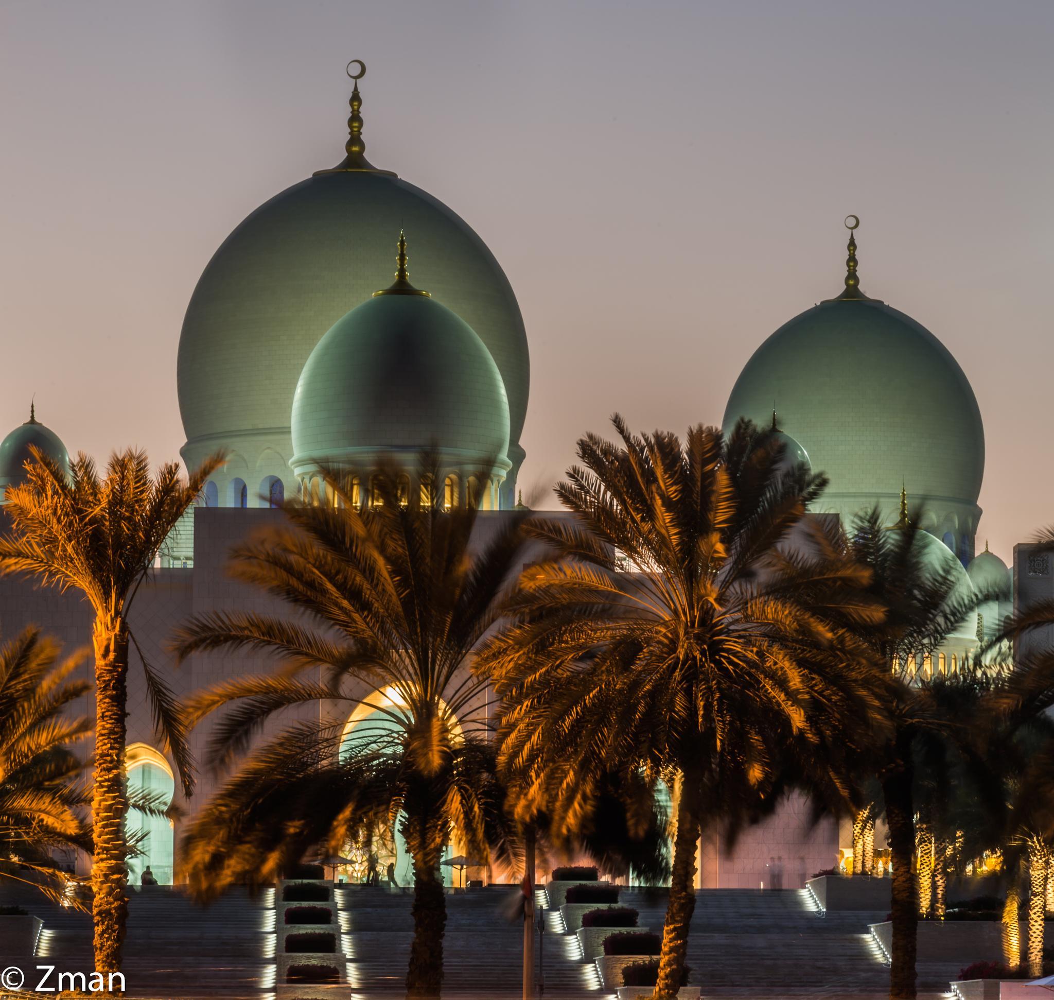 Sheikh Zayed Grand Mosque by muhammad.nasser.963