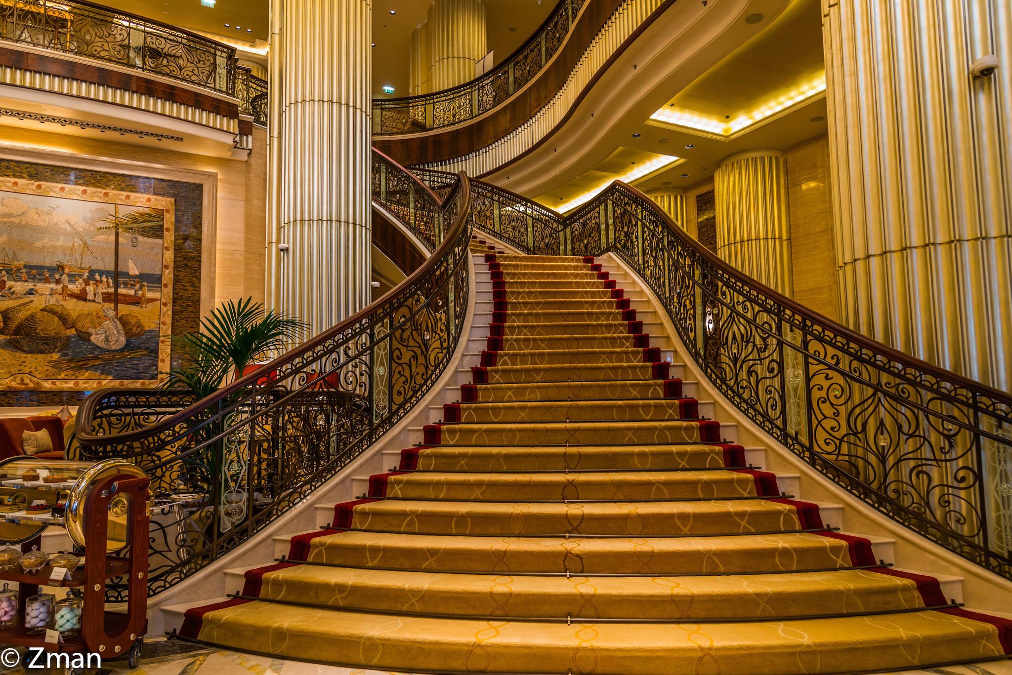 Hyatt Abu Dhabi Lobby by muhammad.nasser.963