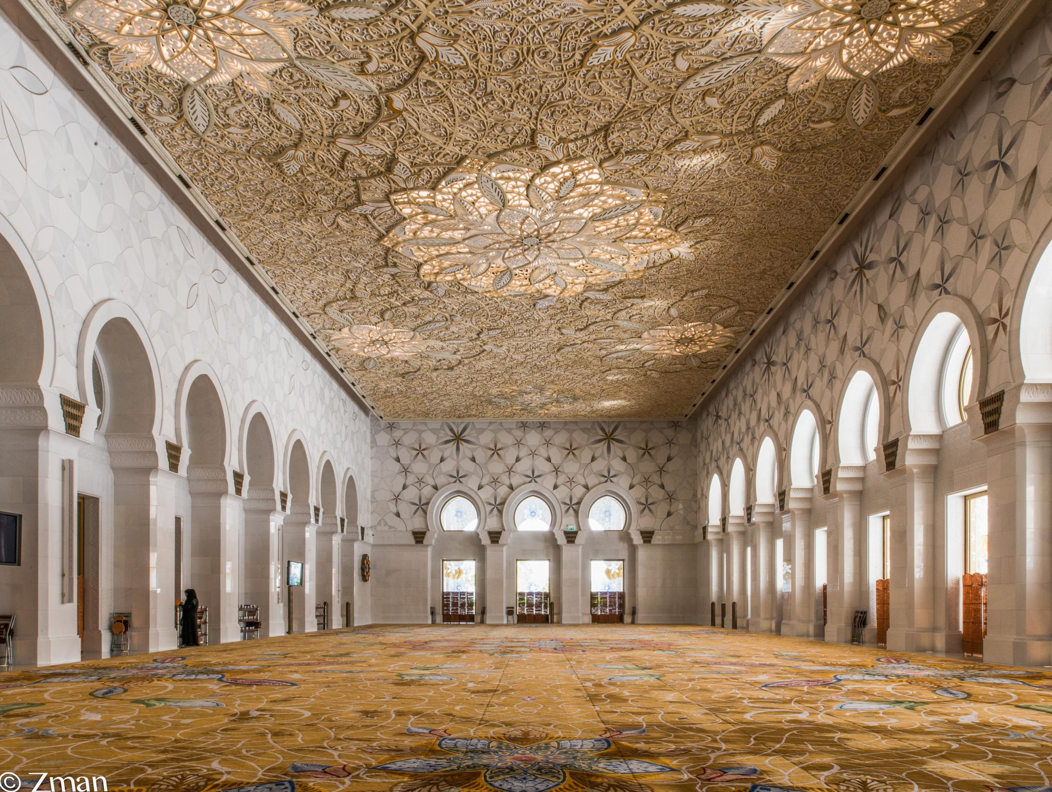 Women's Prayer Room of Shk Zayed Mosque by muhammad.nasser.963