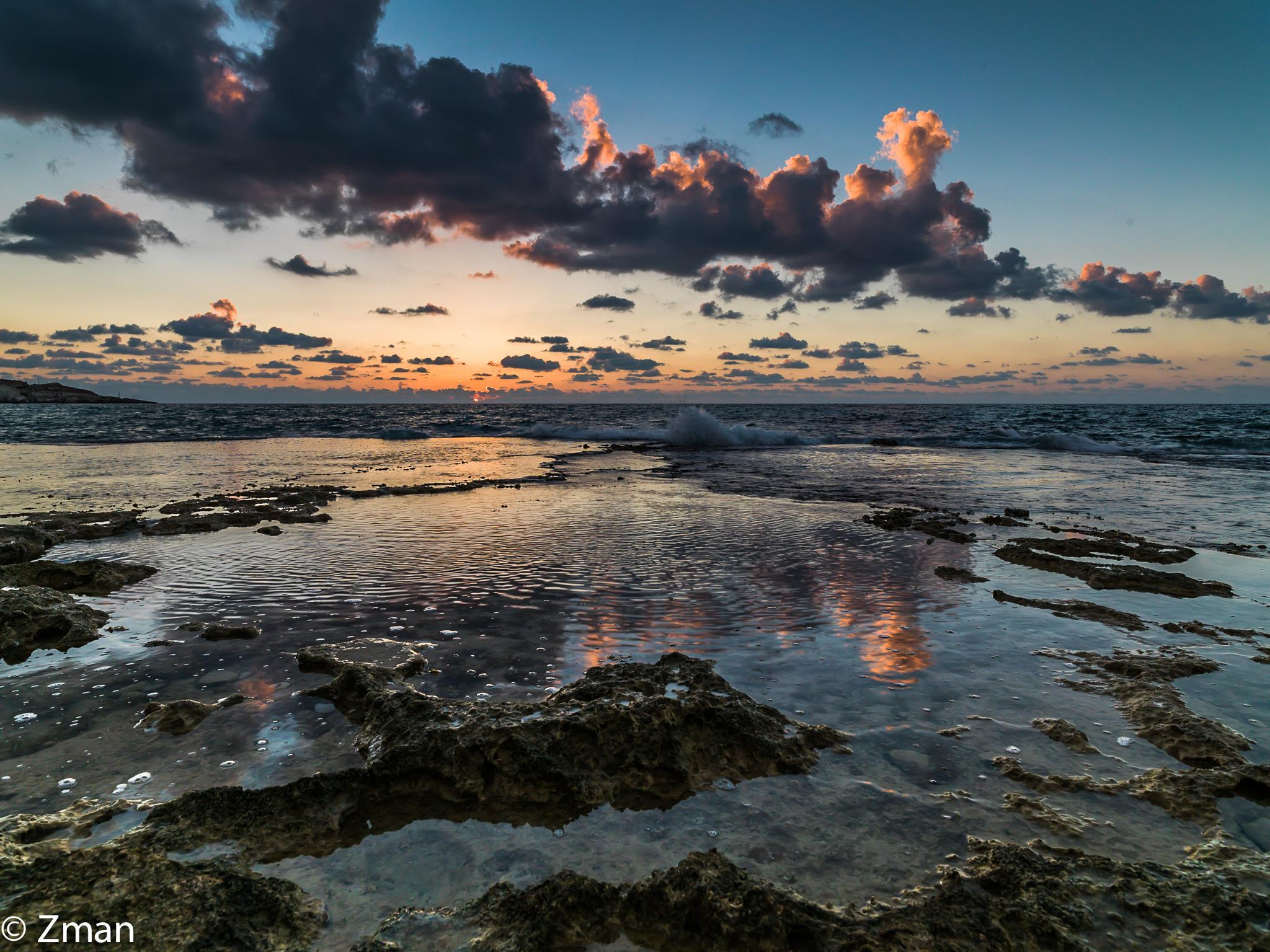 The Beach at Al Naqoura by muhammad.nasser.963