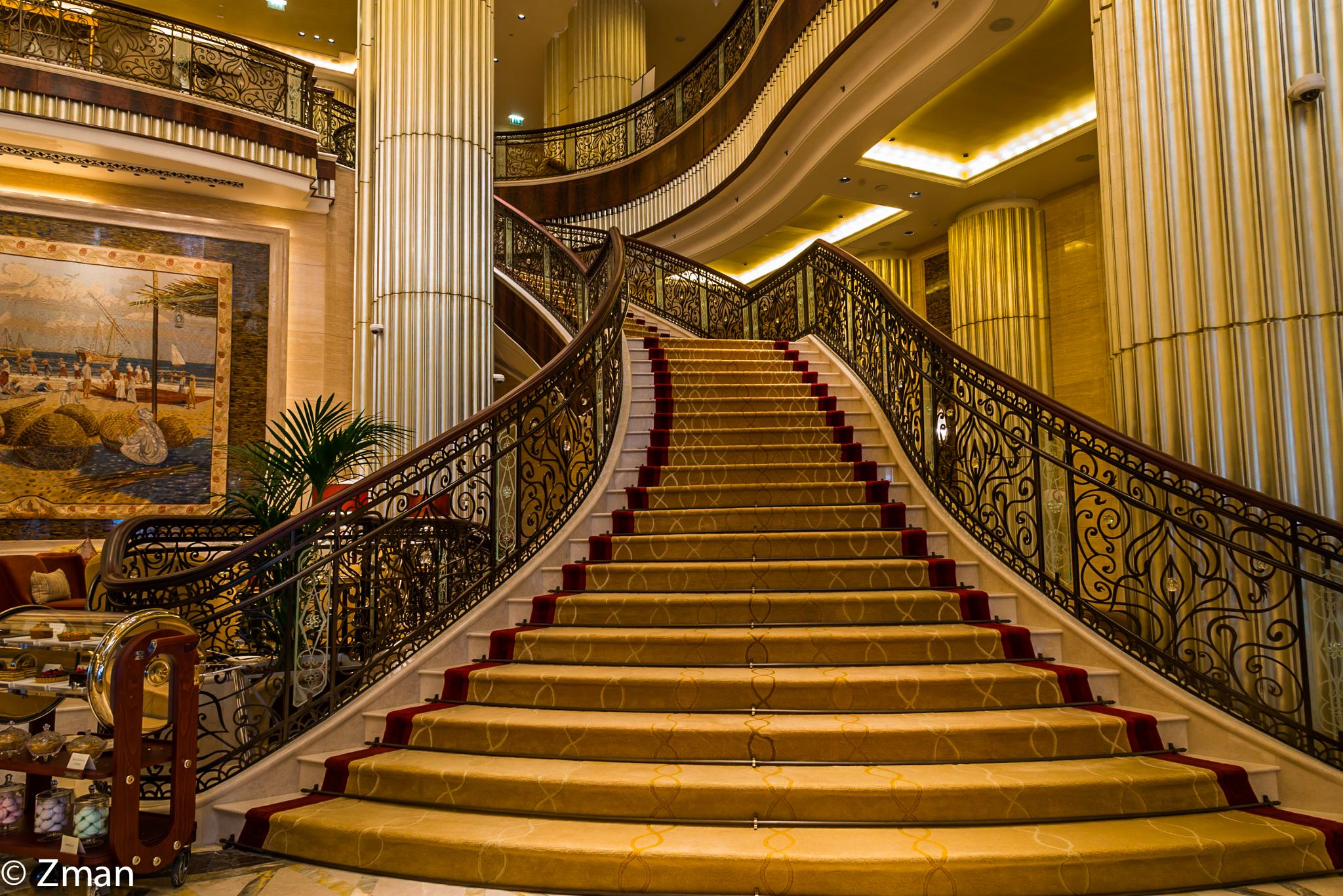 The Stairs AT St. Regis Abu Dhabi by muhammad.nasser.963