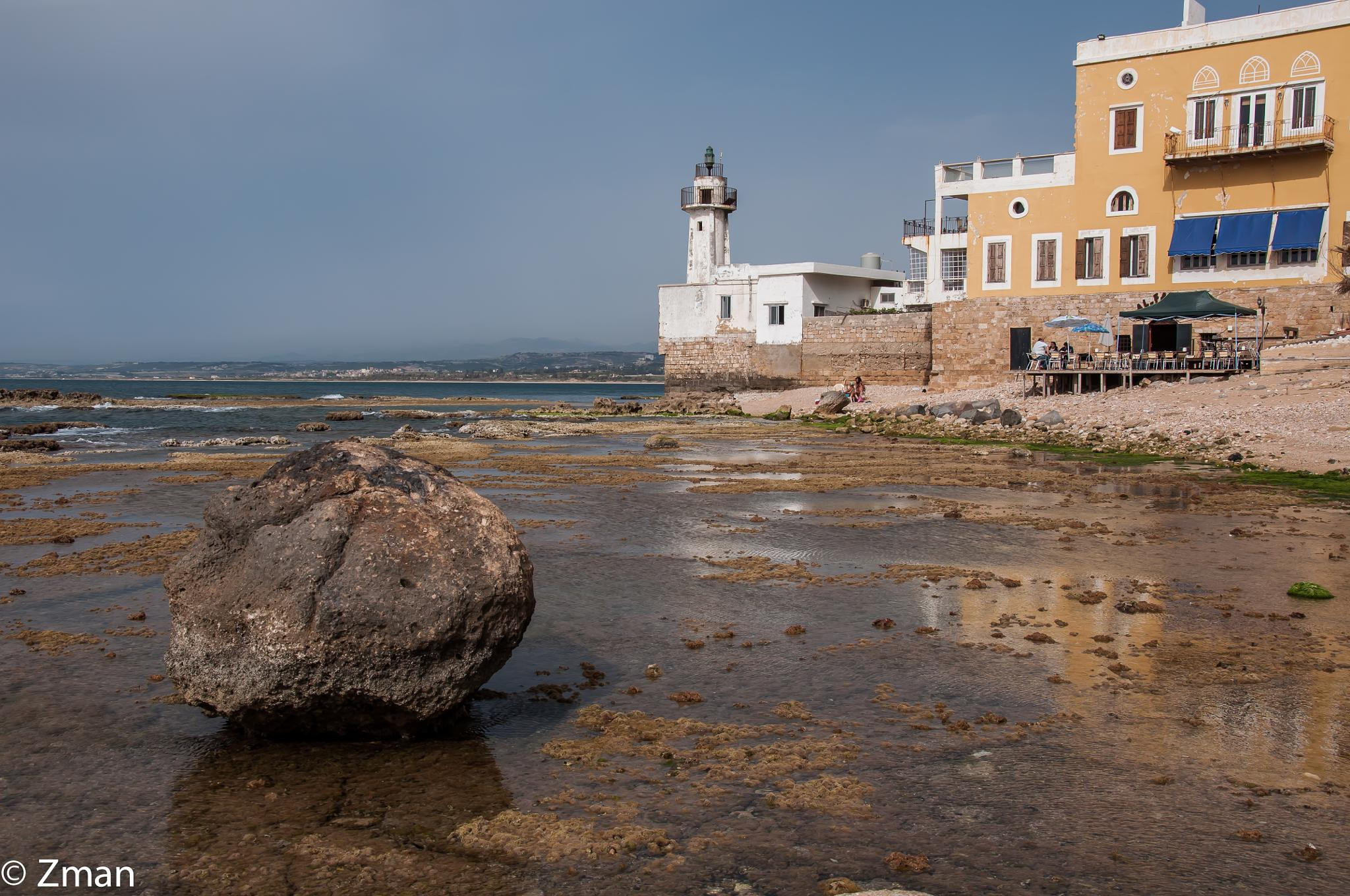 The Lighthouse and The Rock by muhammad.nasser.963