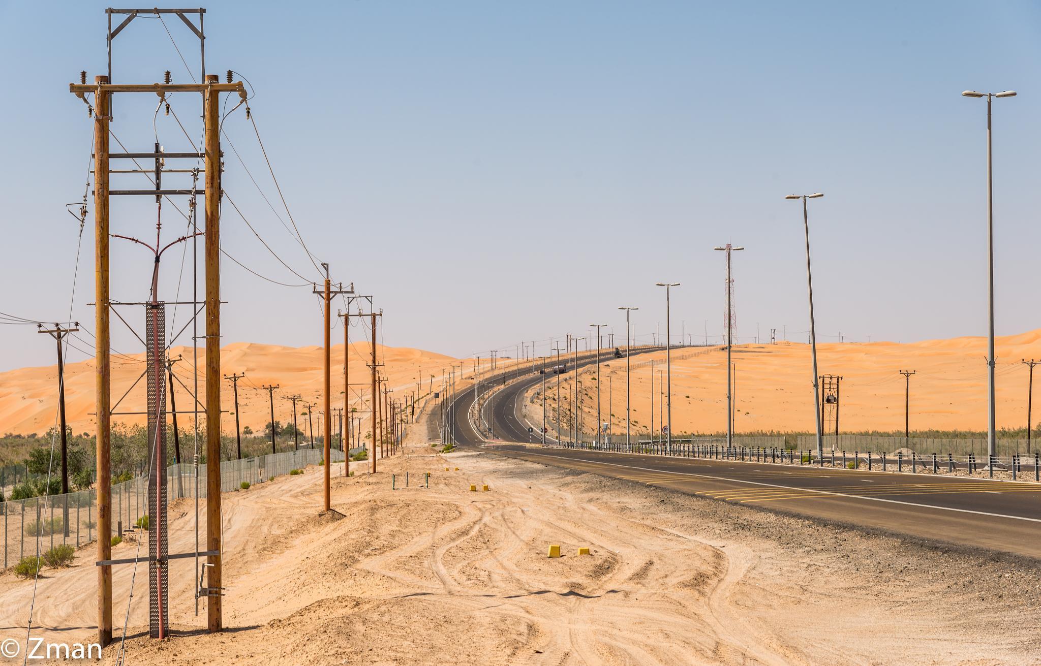 The Road To Qasr Alsarab by muhammad.nasser.963