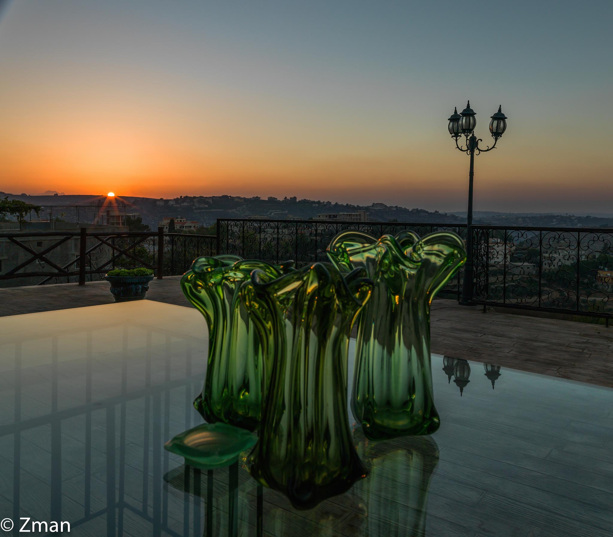 Vases and Sunset by muhammad.nasser.963
