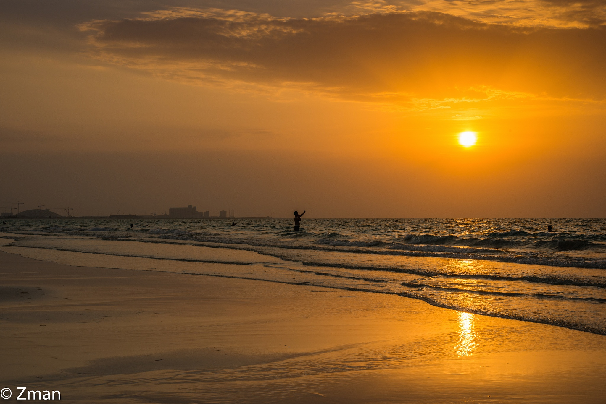 Golden Beach by muhammad.nasser.963