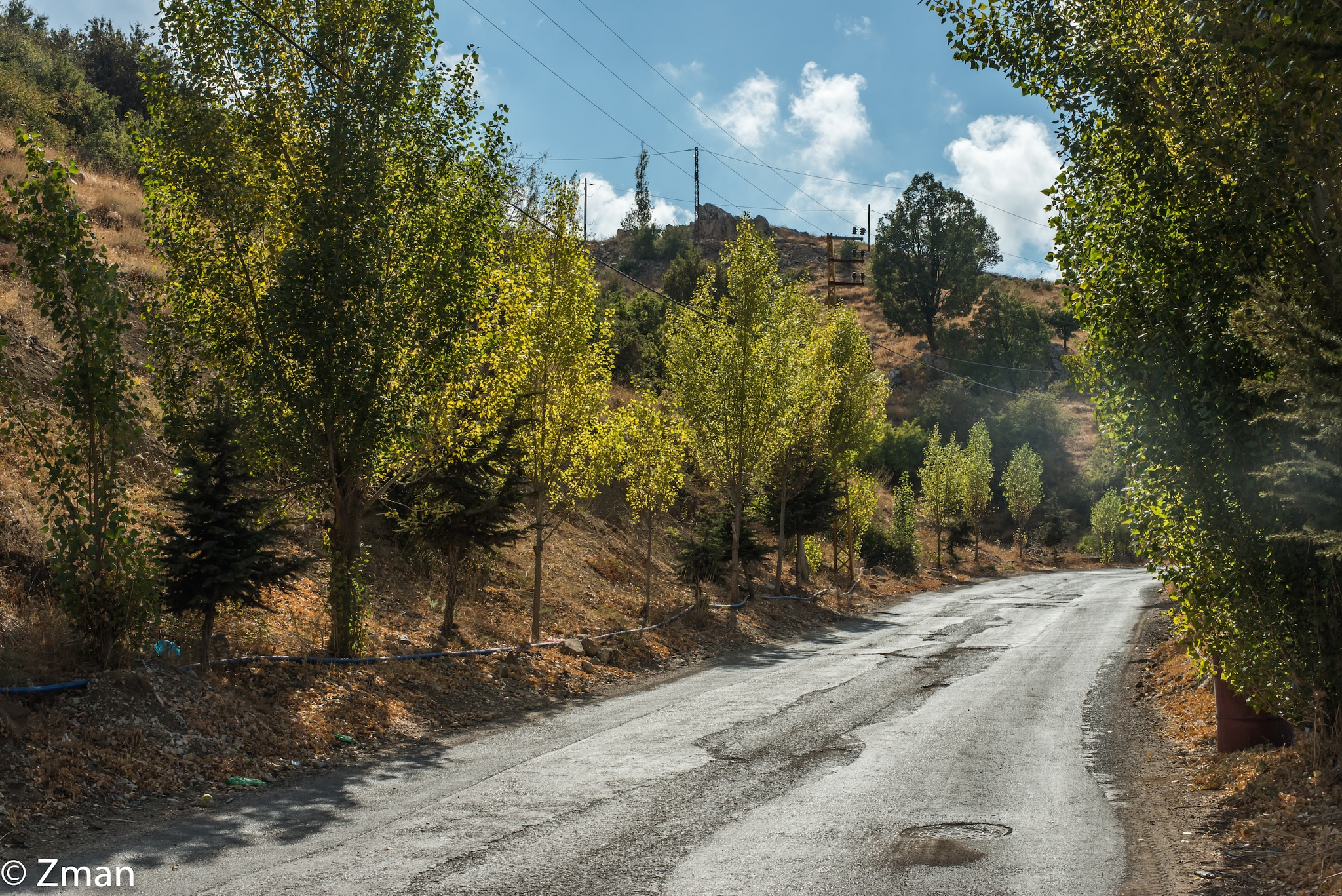 Unmaintained Tannourine Road by muhammad.nasser.963