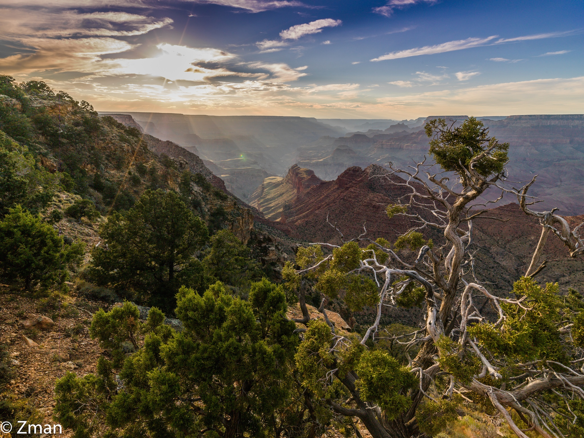 Sunset at Grand Canyon by muhammad.nasser.963