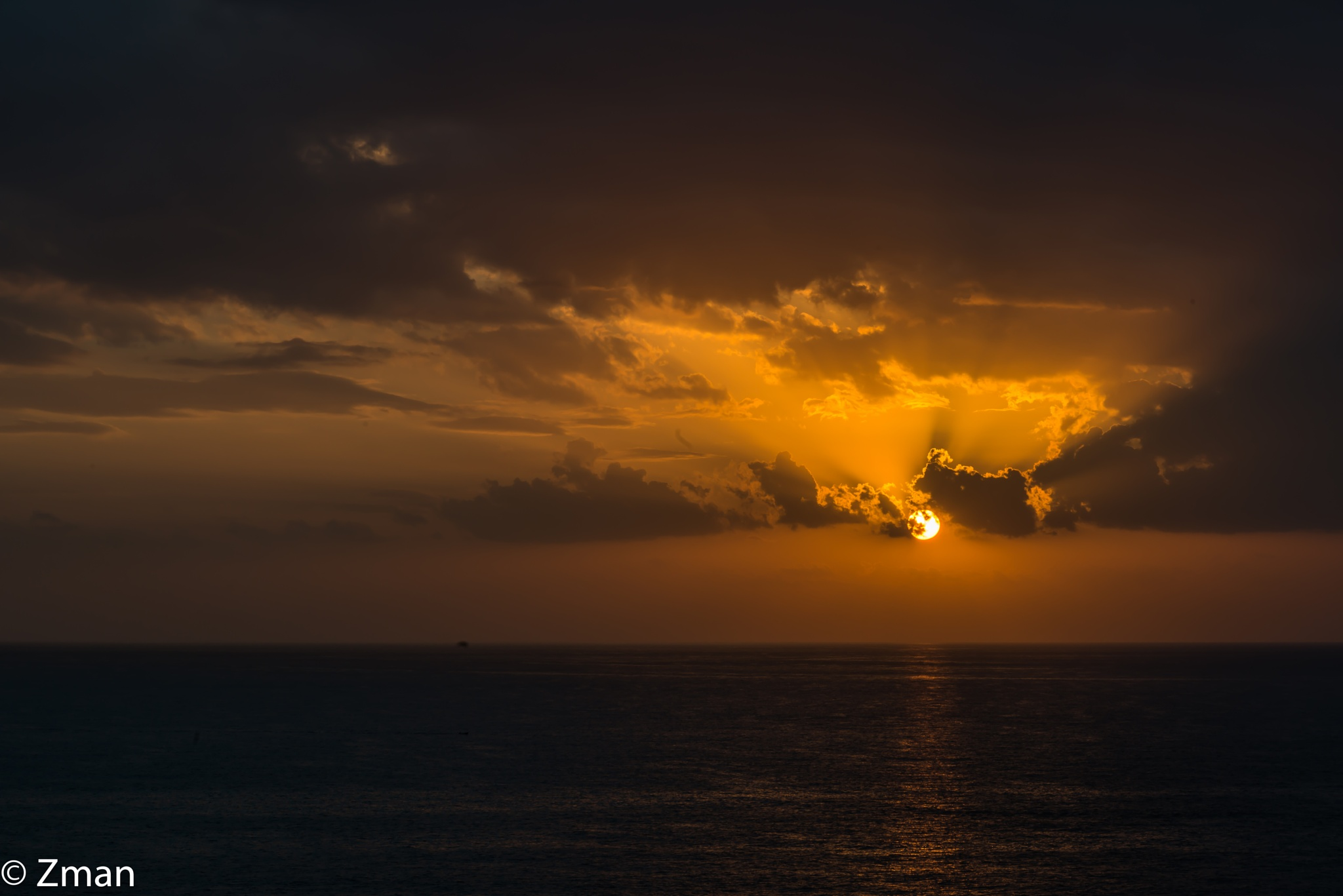 Sunset from Al Raoushe Area by muhammad.nasser.963