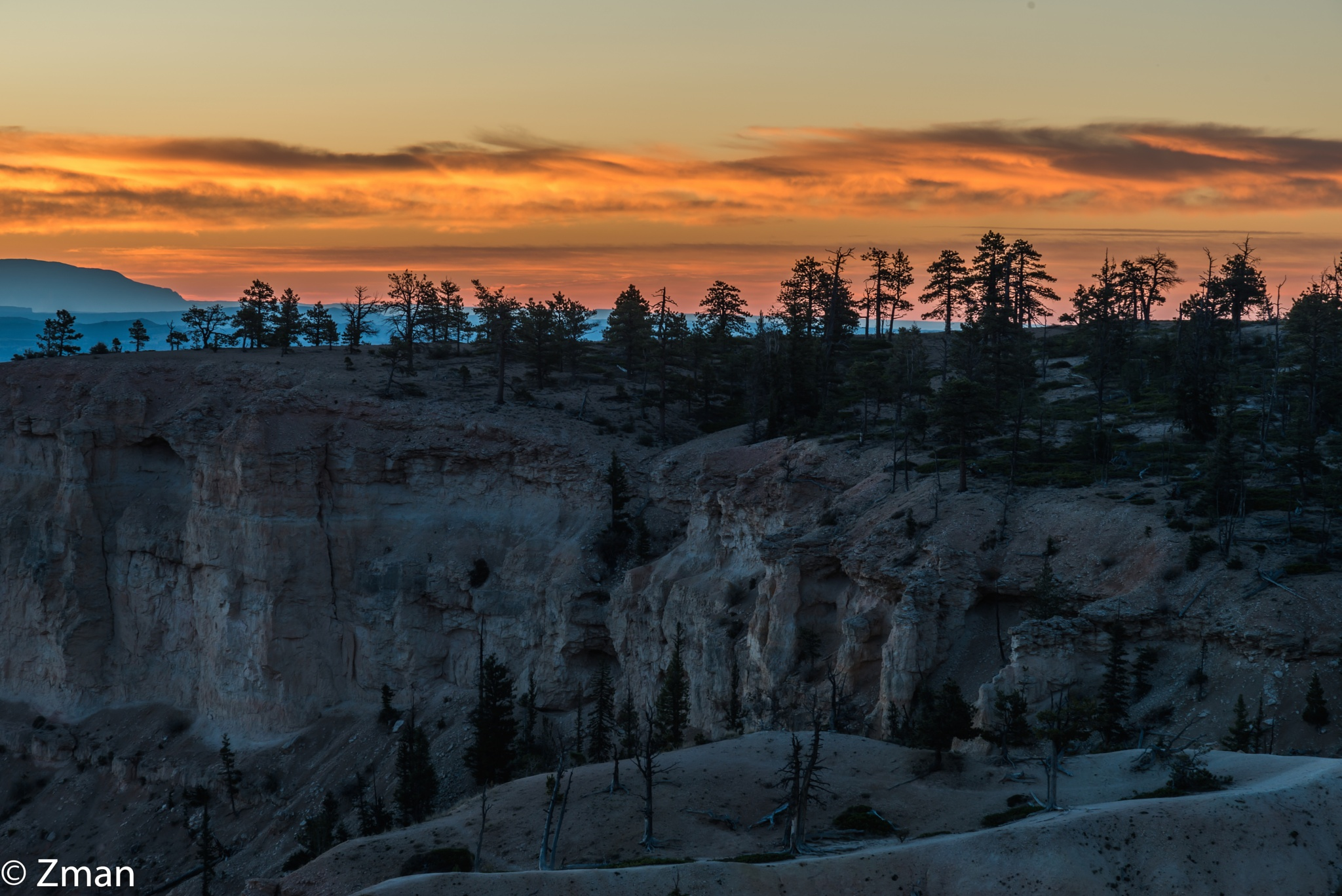 Sunset at Bryce National Park by muhammad.nasser.963