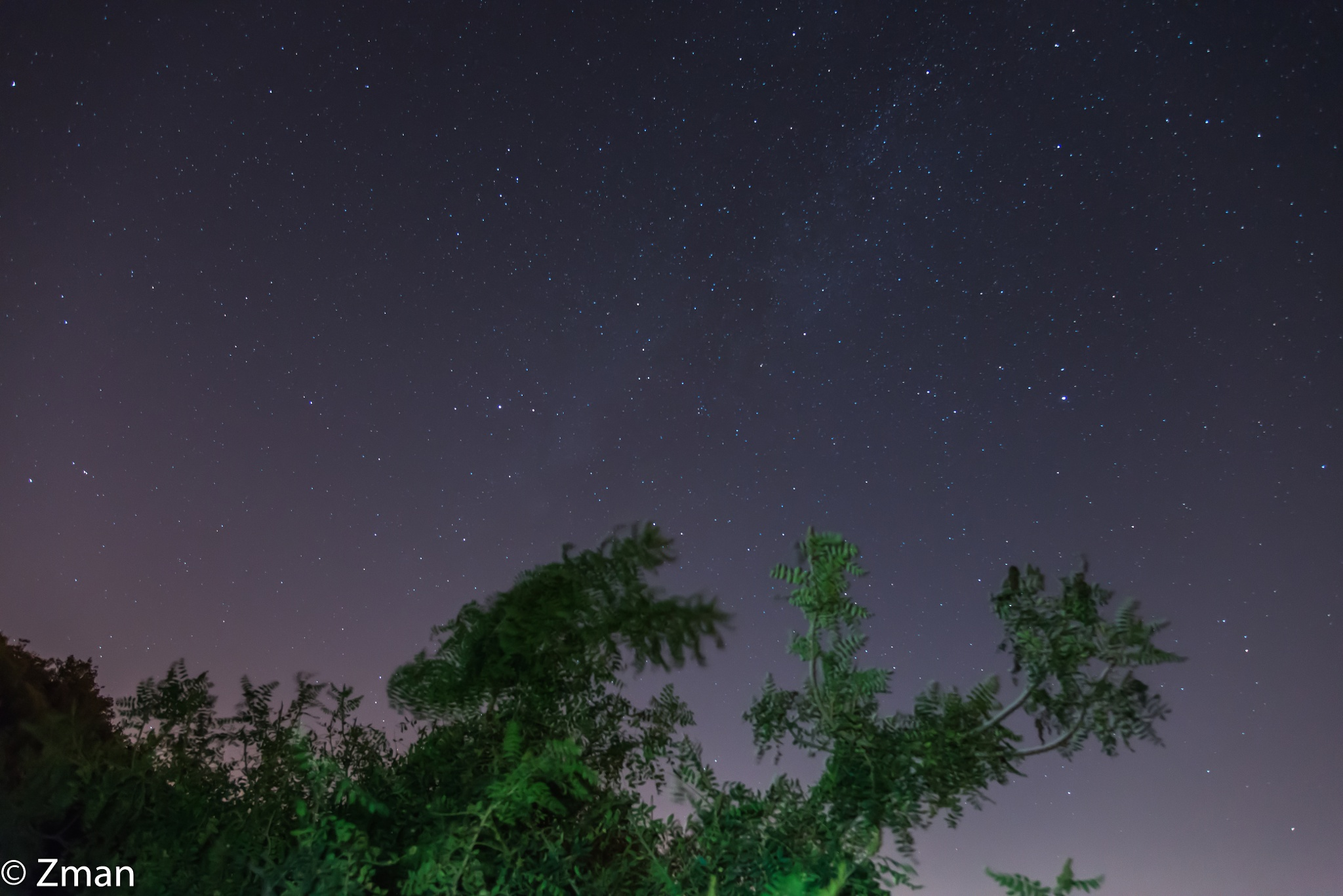 Southern Clear Night Sky by muhammad.nasser.963