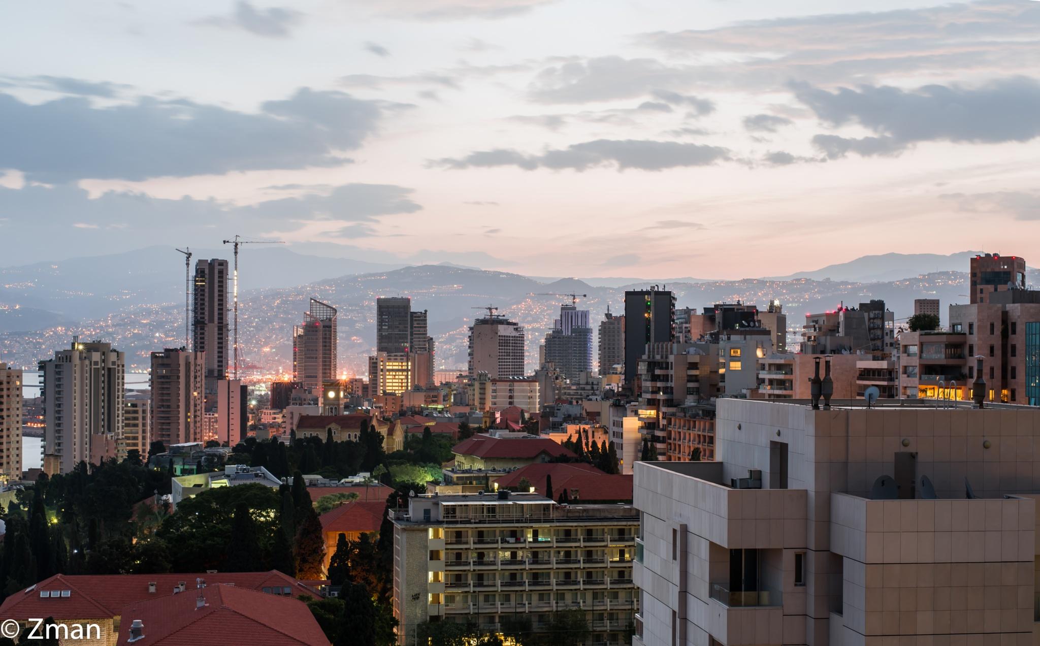 Beirut My City at Daybreak by muhammad.nasser.963