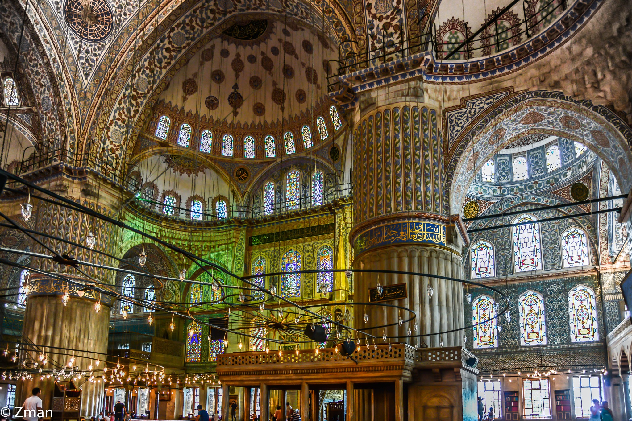 The Blue Mosque 02 by muhammad.nasser.963