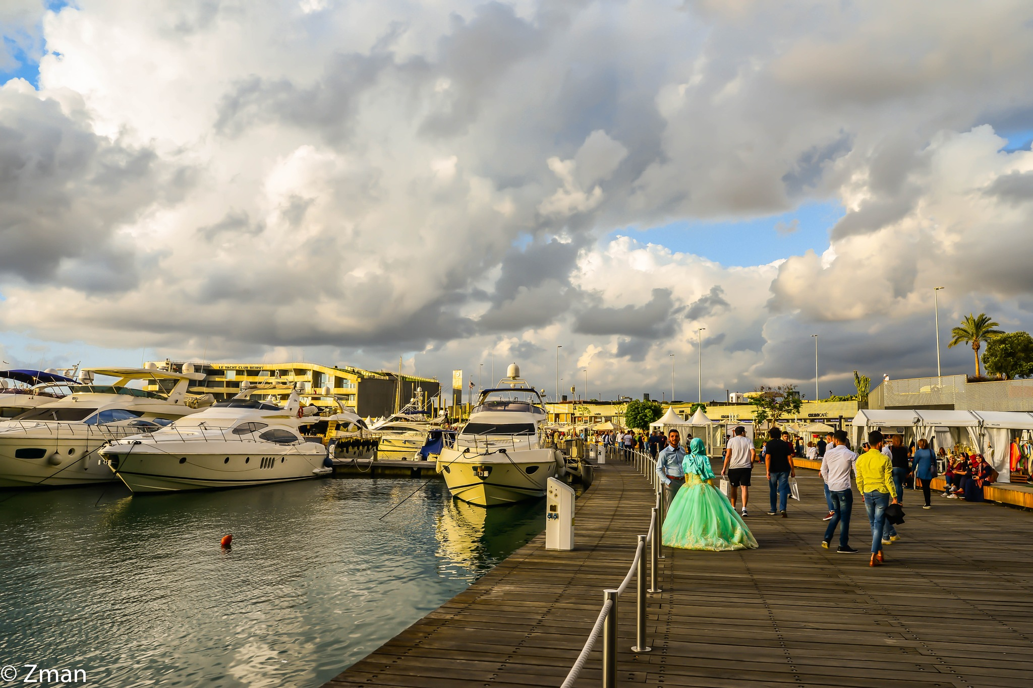 Wedding on the Marina by muhammad.nasser.963