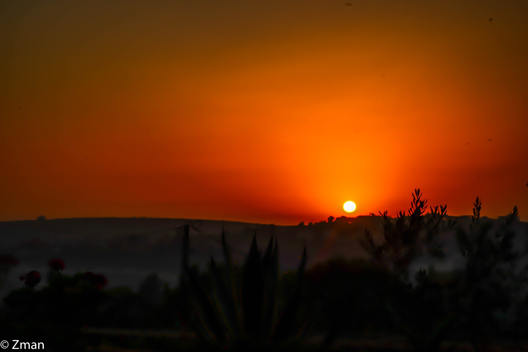 Sunset in a Very Hot Day by muhammad.nasser.963