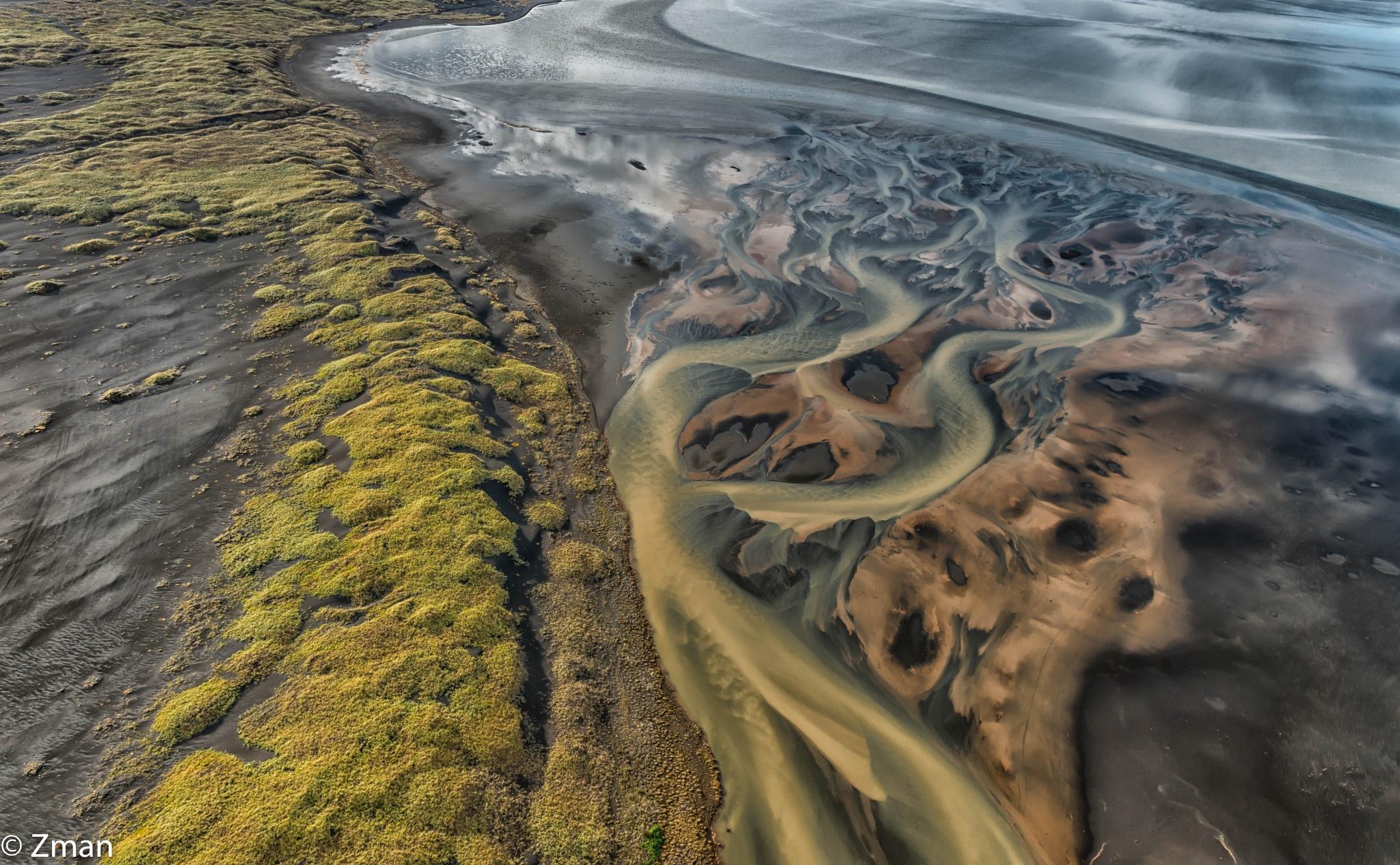 Vulkanasche River Delta by muhammad.nasser.963