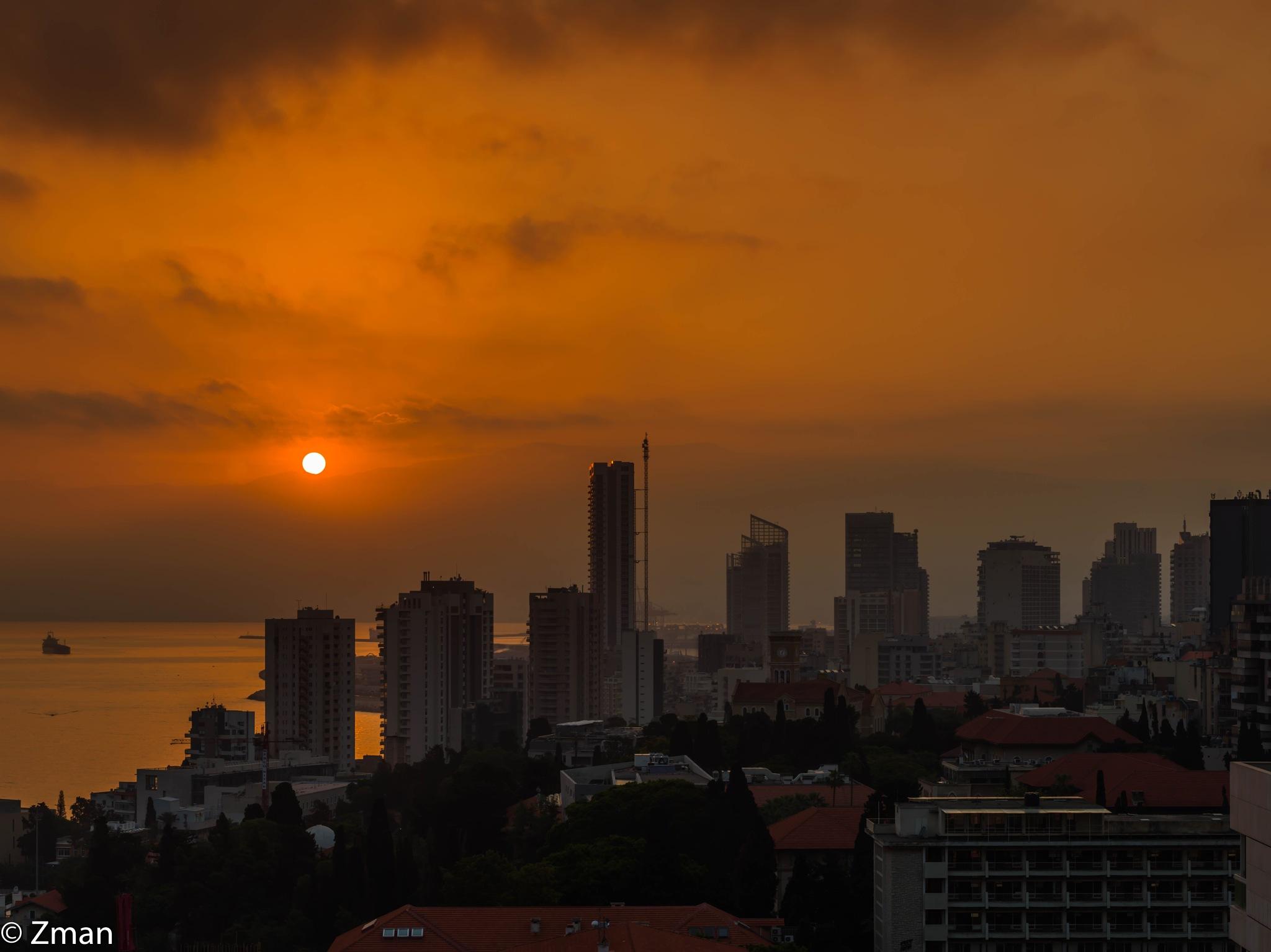 My City at Sunrise by muhammad.nasser.963