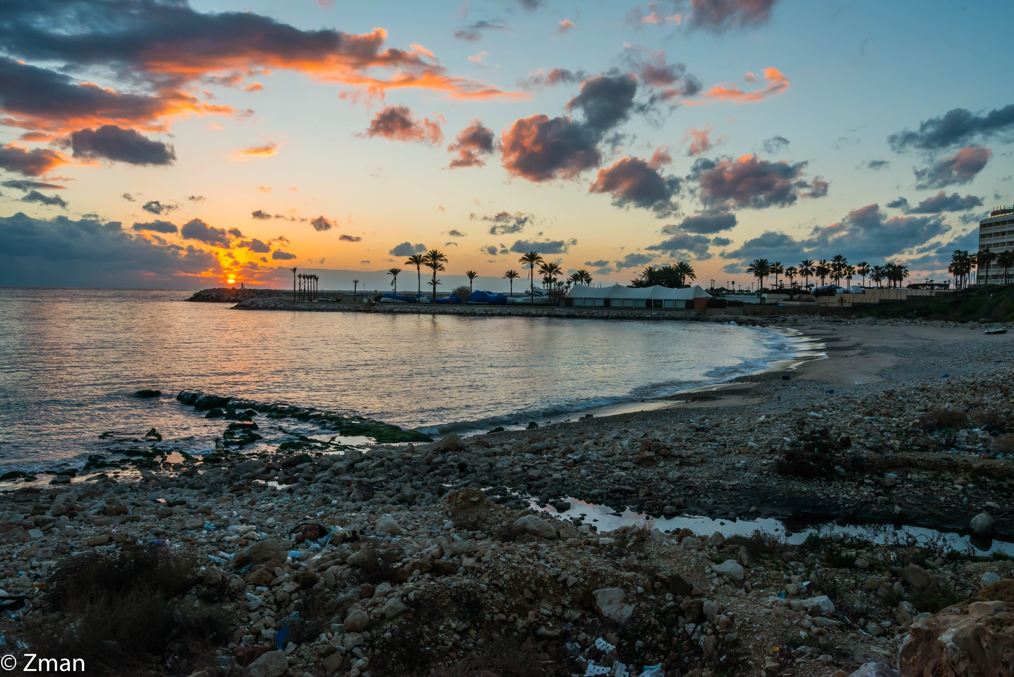 Four Season's Marina and Sunset by muhammad.nasser.963