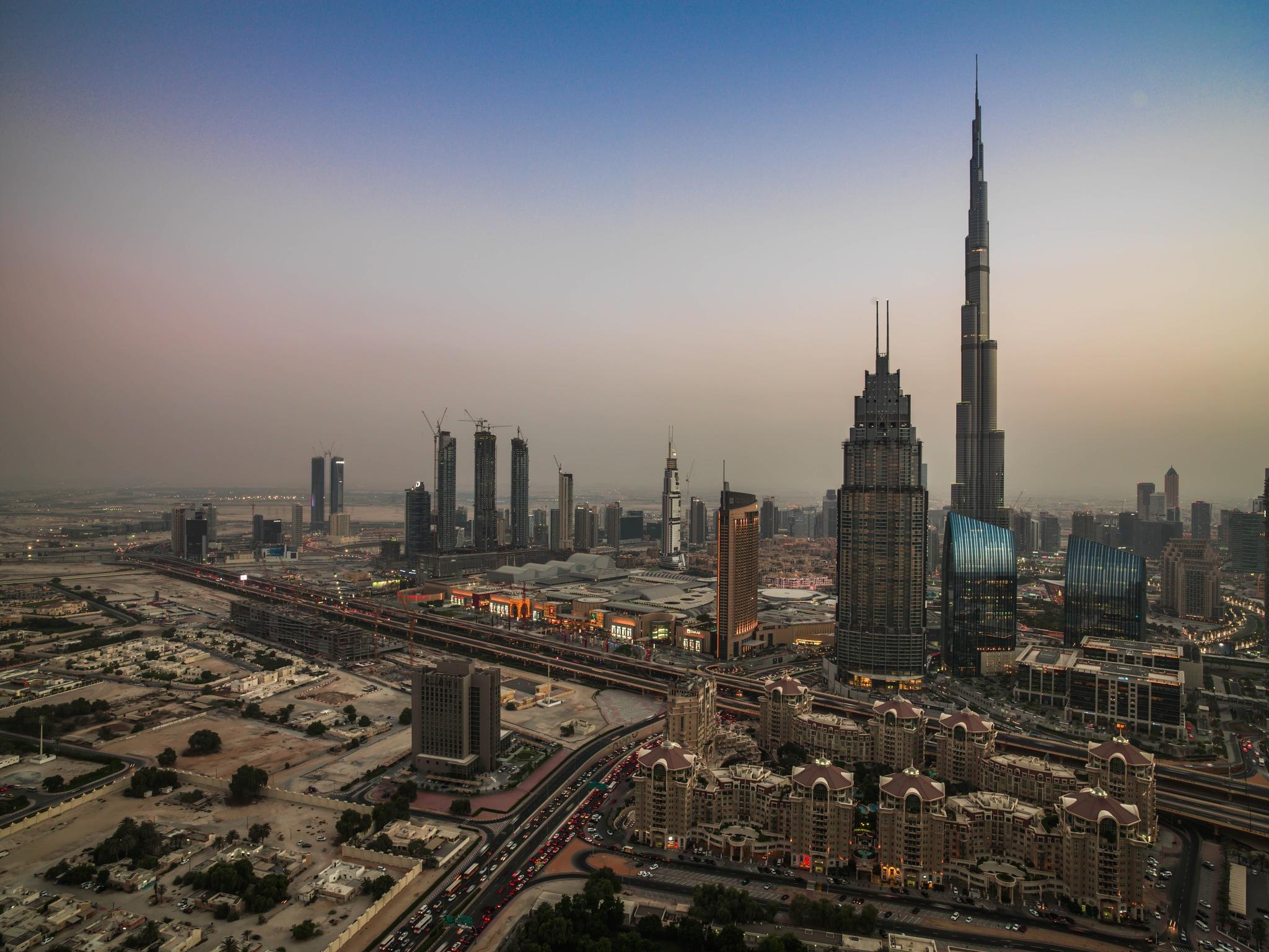 Burj Khalifa and Dubai Mall by muhammad.nasser.963