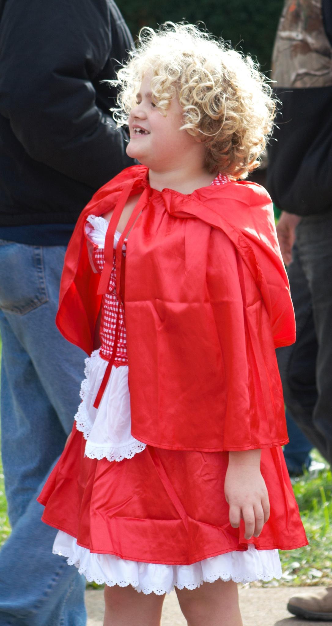 Costumed Girl by joann.kunkle