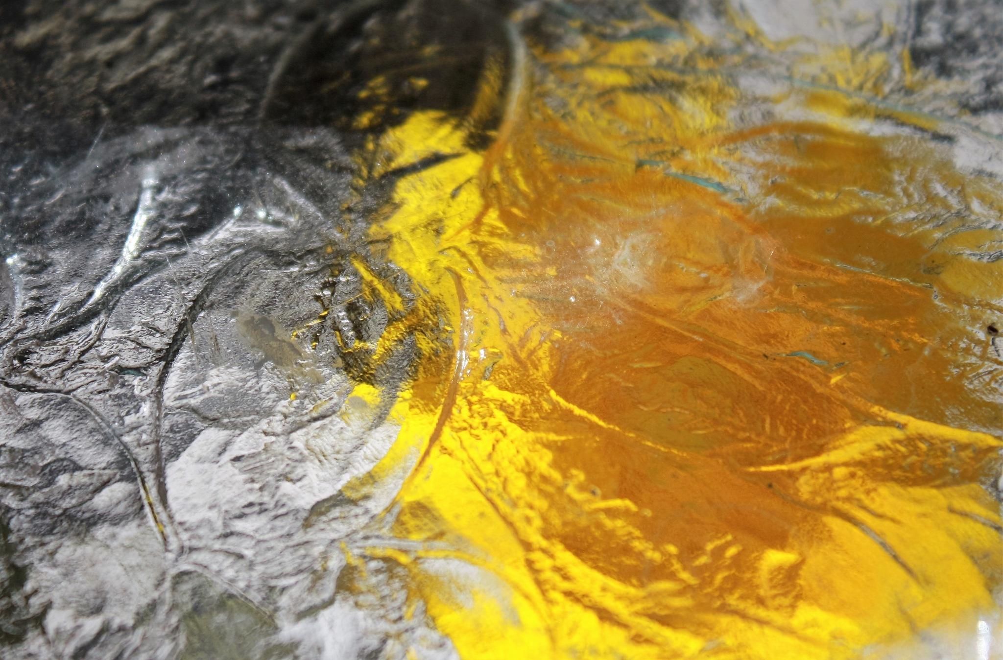 Yellow under glass by joann.kunkle