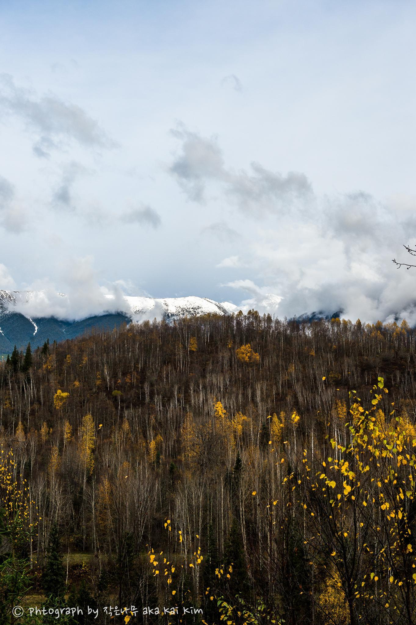 Seven Sisters Mountain (2) by Kai Kim
