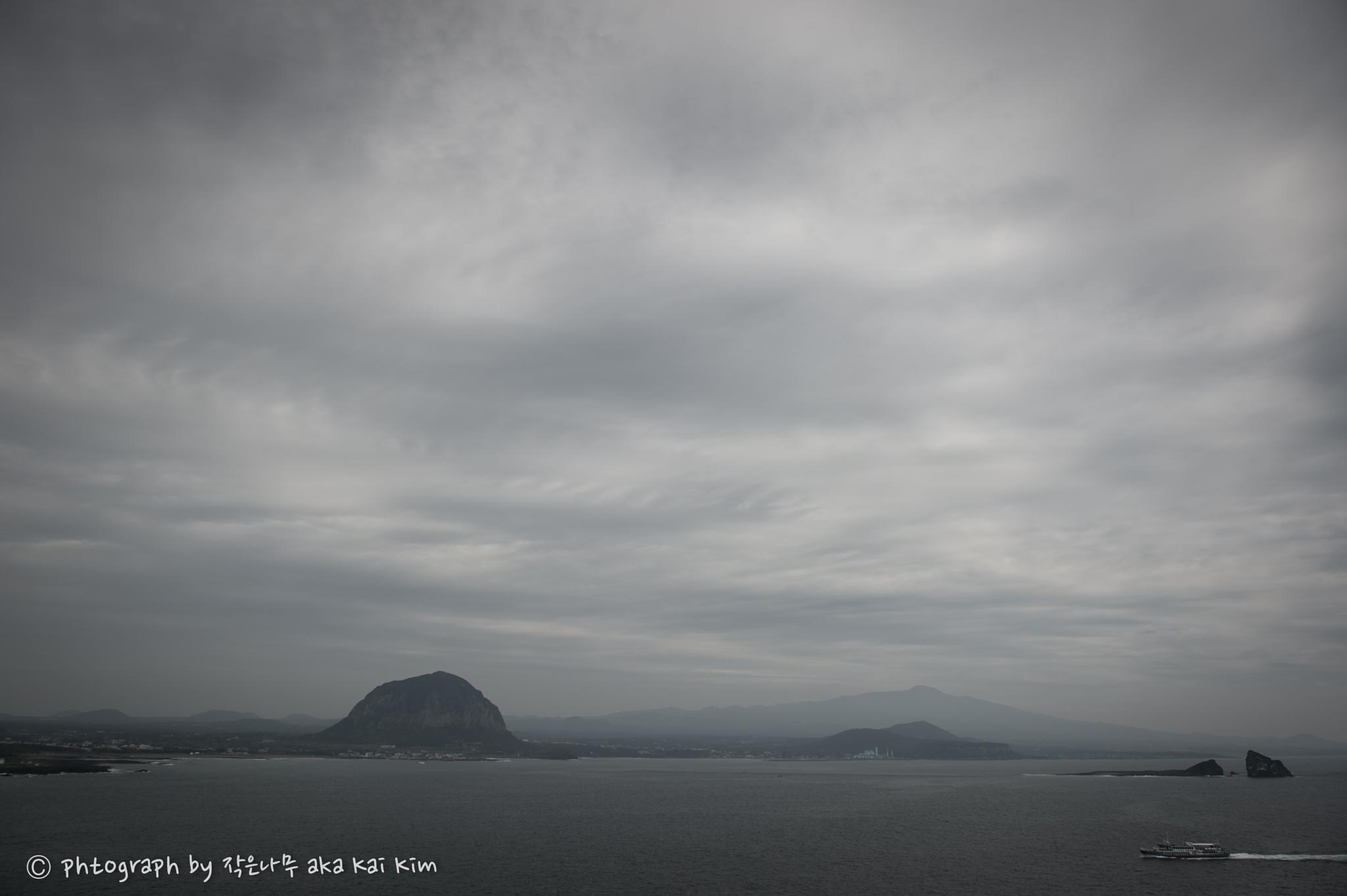Mist morning on Jejudo(Jeju island) by Kai Kim