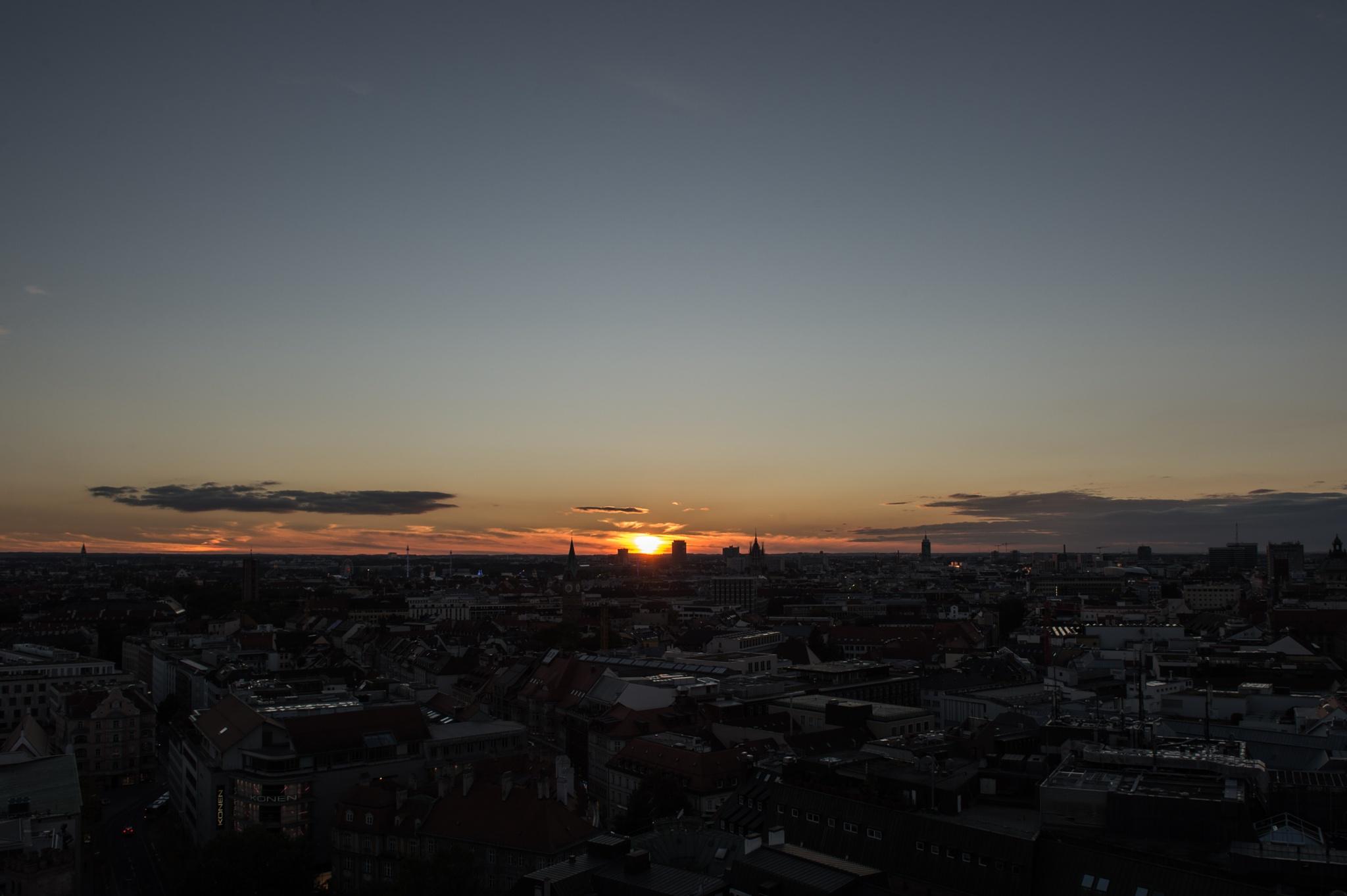 Sunset by Kai Kim